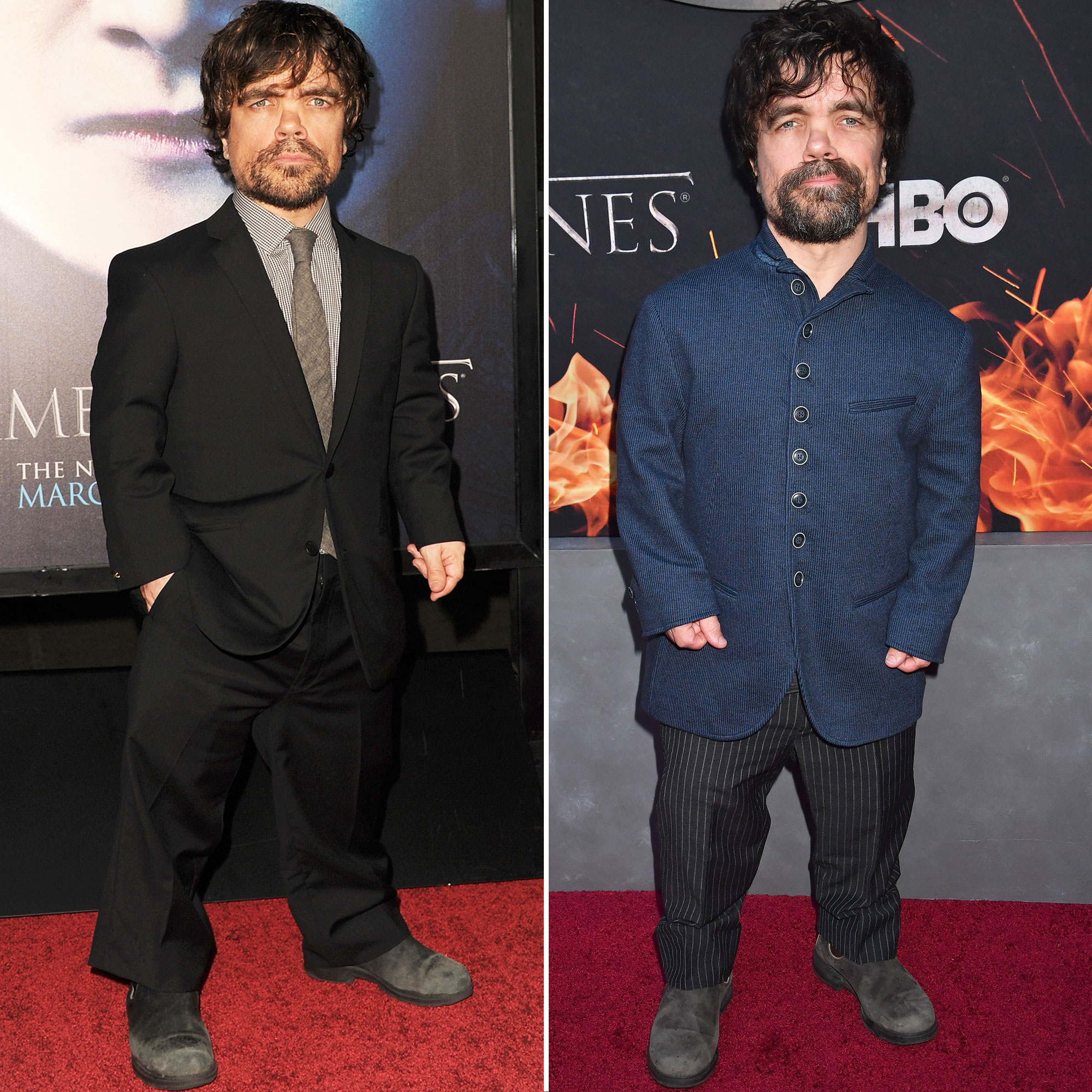 Peter Dinklage 'Game of Thrones' Stars: From the First 'GoT' Red Carpet Premiere to the Last - The New Jersey-born actor stole the spotlight from the inception of the fantasy drama. (Watch when he makes his entrance at any Comic-Con and you'll see.)