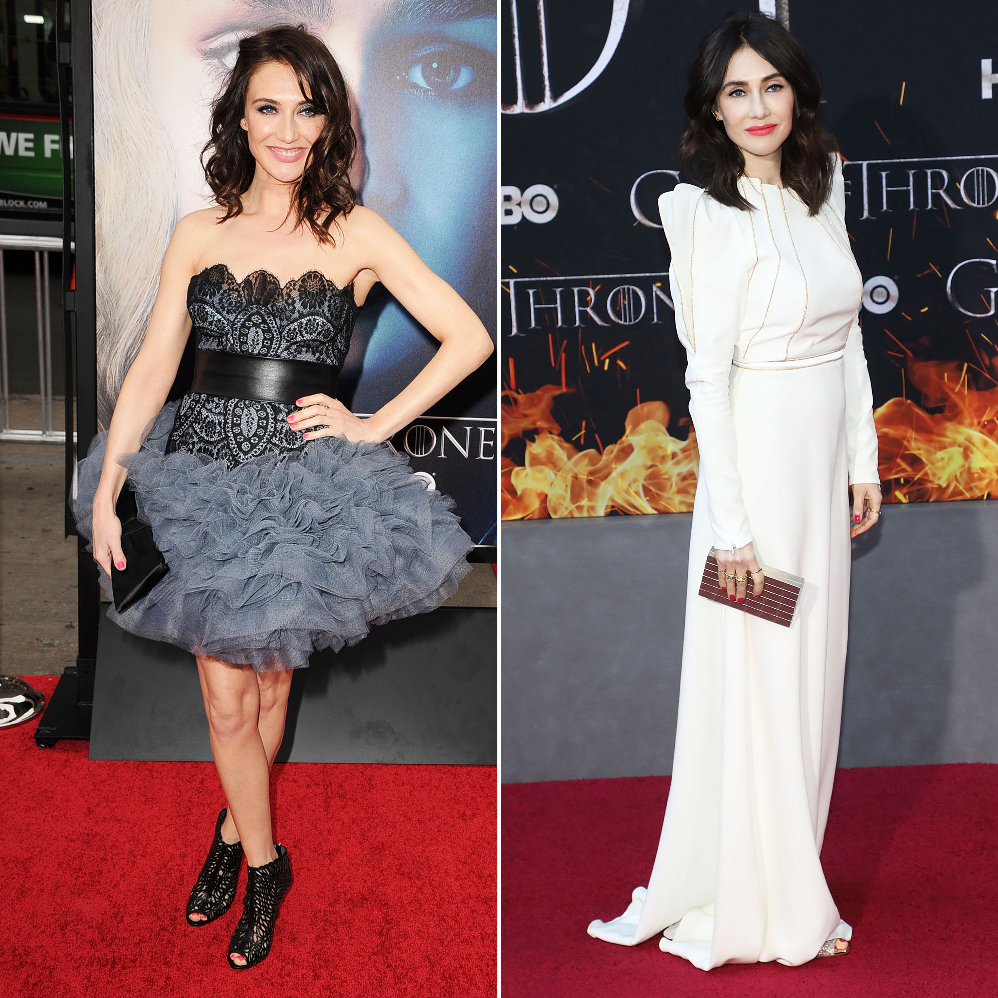 Carice van Houten 'Game of Thrones' Stars: From the First 'GoT' Red Carpet Premiere to the Last - Melisandre (a.k.a. The Red Woman) wasn't exactly a hit from the get-go, but she proved her worth when she brought Jon Snow back from the dead on season 6. Fans can't wait to see what she brings to the table on the mini-series Temple .