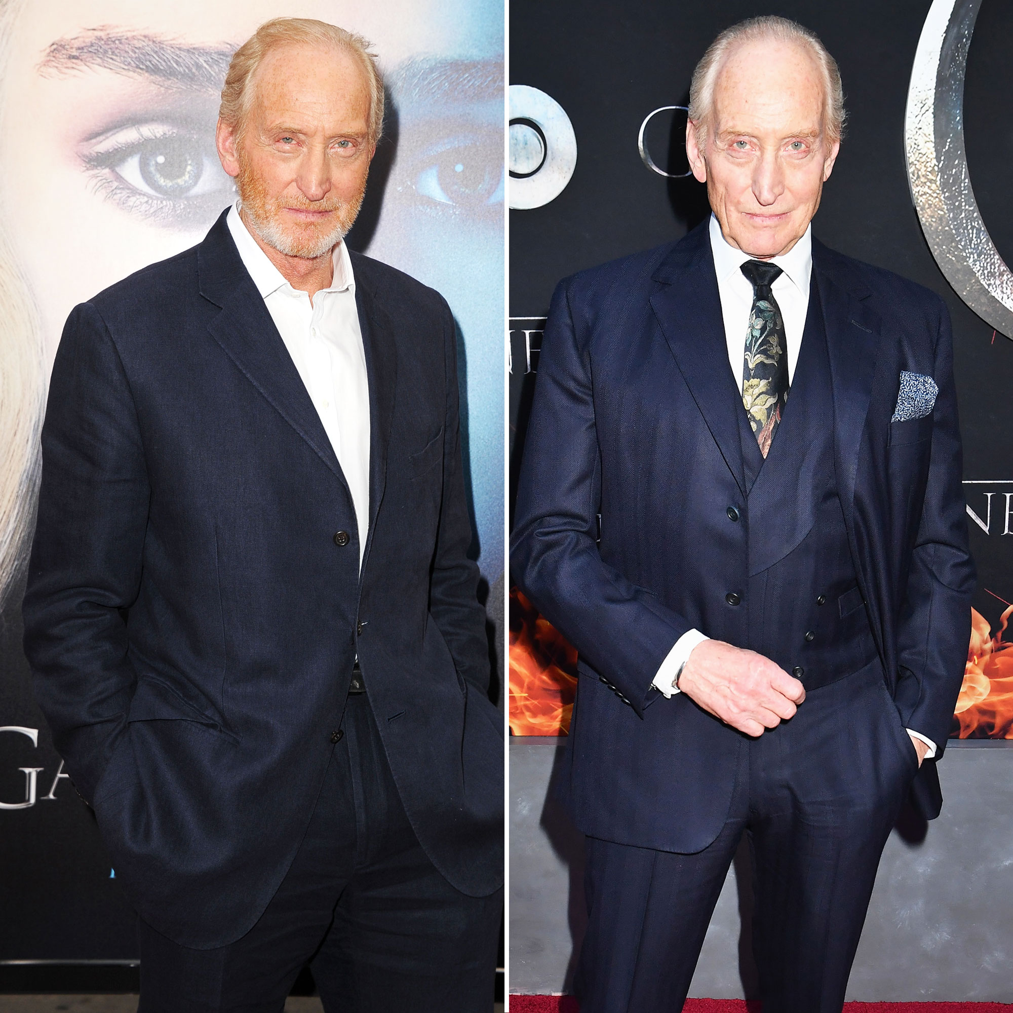 Charles Dance 'Game of Thrones' Stars: From the First 'GoT' Red Carpet Premiere to the Last - Dance has been keeping busy, adding over 20 acting credits to his name since his character's death at the hands of his onscreen son Tyrion in 2015. One of those projects included Me Before You , opposite Emilia Clarke!