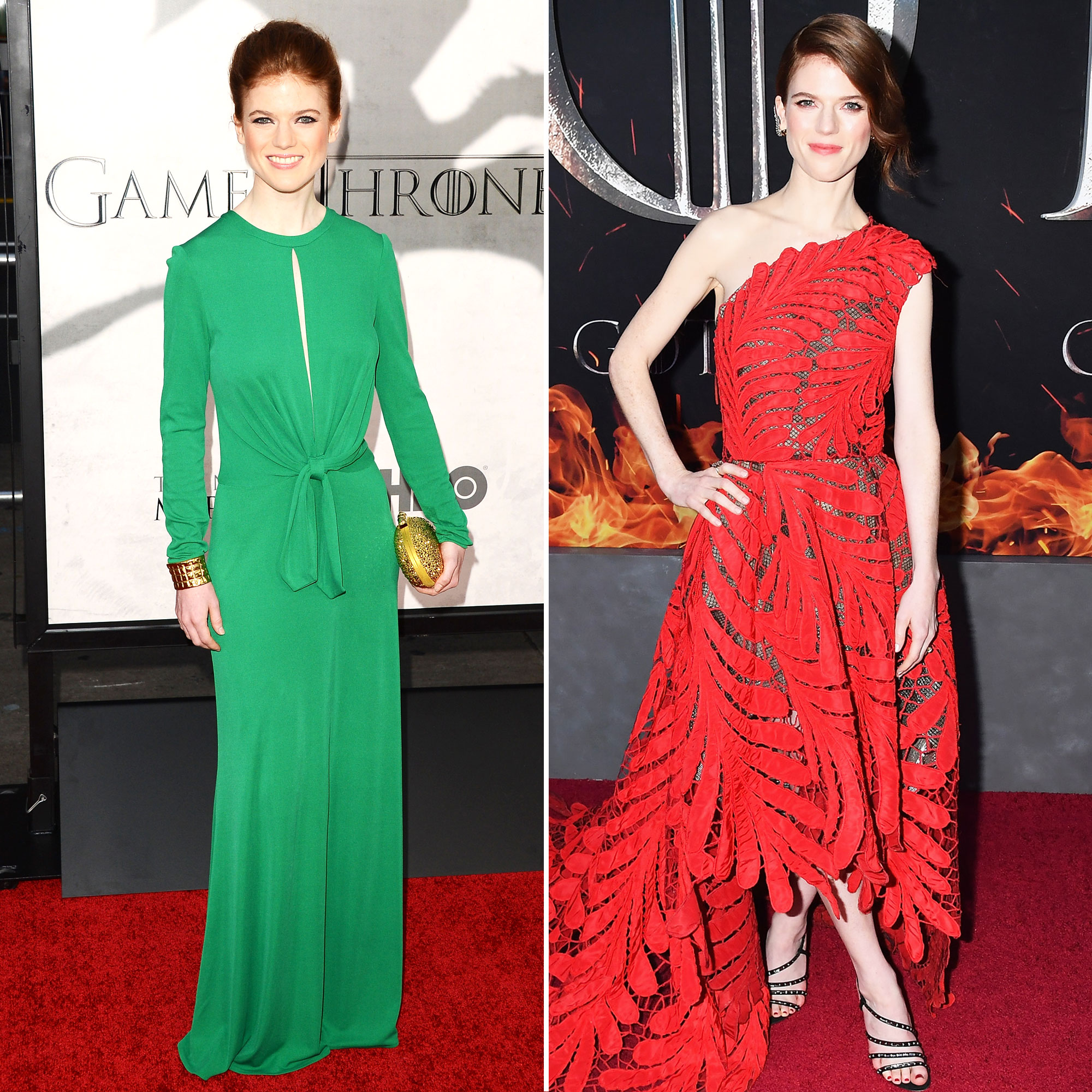 """Rose Leslie 'Game of Thrones' Stars: From the First 'GoT' Red Carpet Premiere to the Last - If """"you know nothin'"""" about Rose Leslie outside of Game of Thrones , we'll fill in some of the blanks for you. After Ygritte was killed off in 2014, the redhead has been working hard on shows such as The Good Fight , the spinoff of The Good Wife ."""