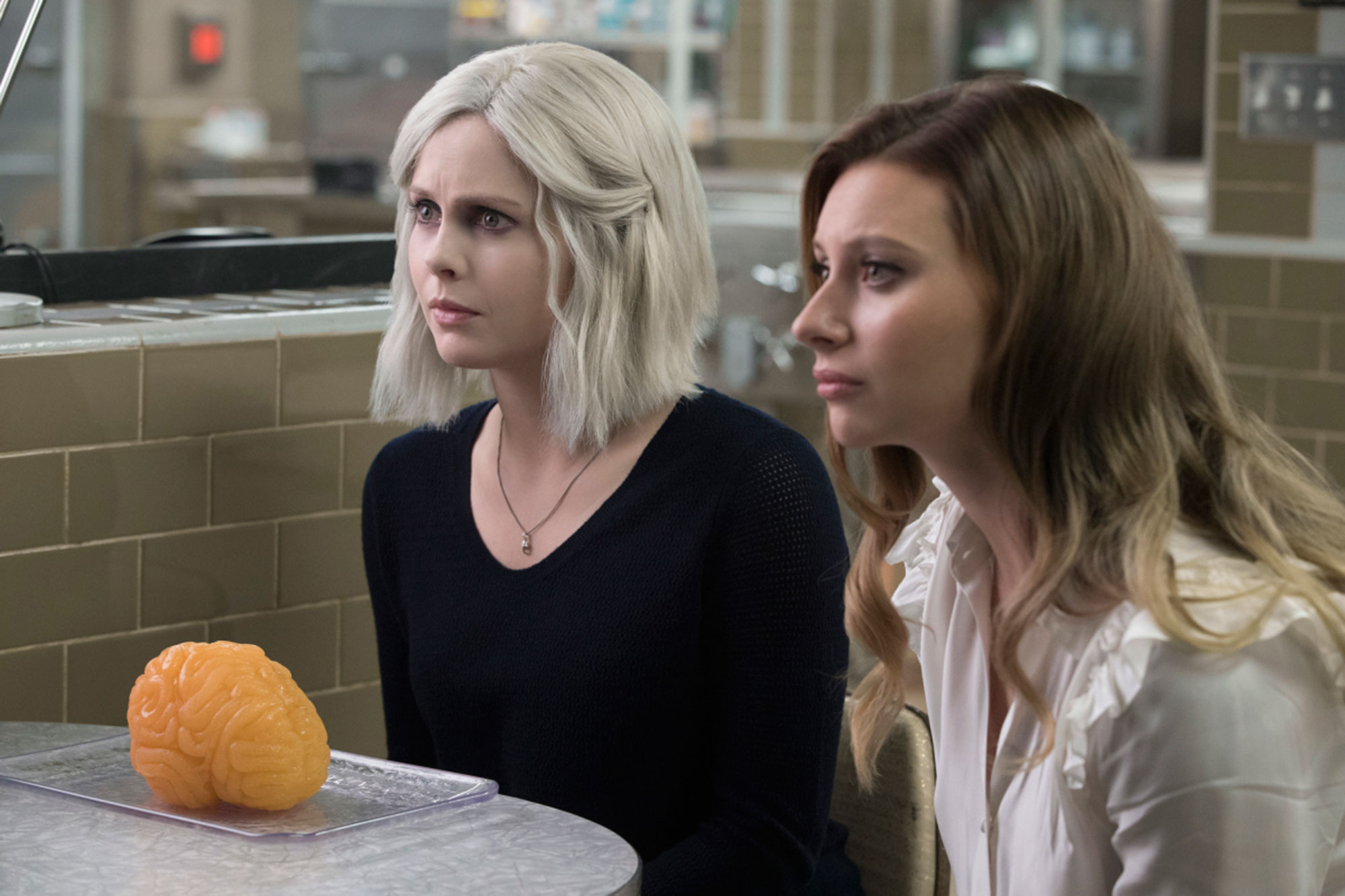 iZombie - The long-awaited CW dramedy returns with its fifth and final season, led by Rose McIver 's Liv Moore. After the bloodier-than-usual season 4 finale killed off her boyfriend Levon ( Daniel Bonjour ), Liv's relationship with Robert Buckley 's Major will finally be resolved.