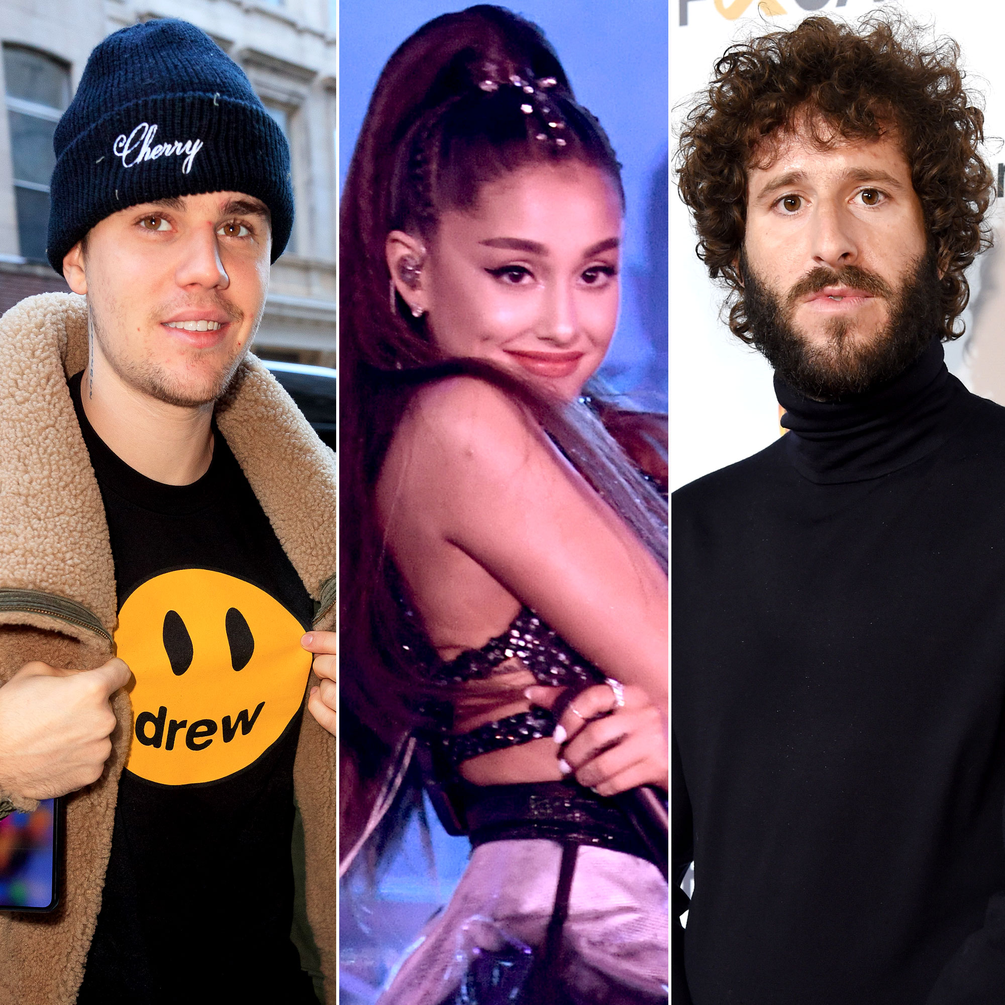 Lil Dicky's 'Earth' Music Video Celebrity Cameos - Justin Bieber, Ariana Grande and Lil Dicky.