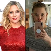 Kate Hudson Show Off Their Makeup-Free Glows