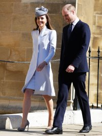 Duchess Kate Was Pretty in Pastels for Easter