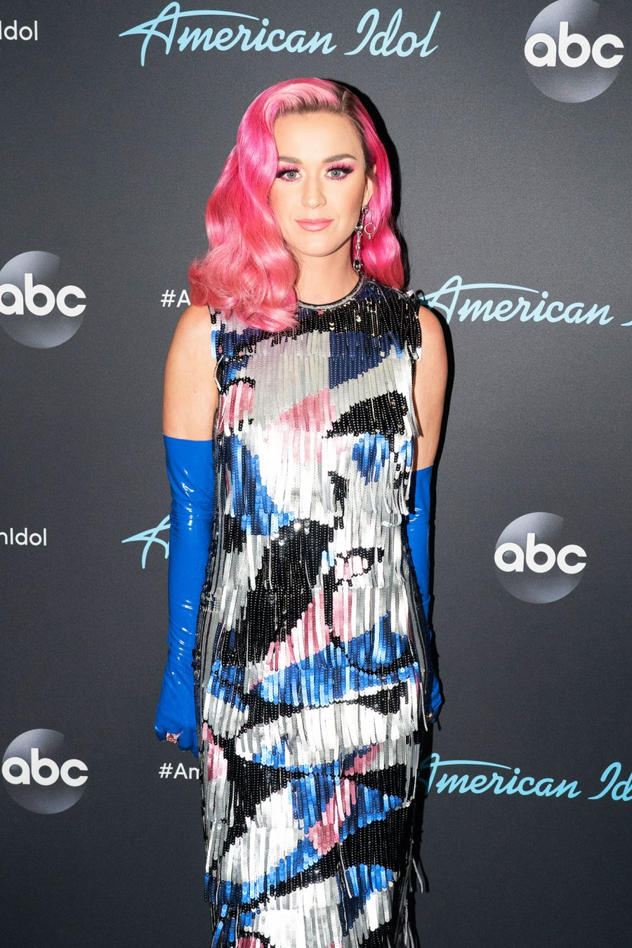 Katy Perry Go Bold in Brightly Colored Wigs