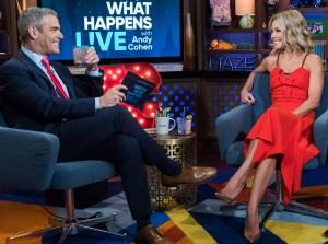 Kelly Ripa Accidentally Grabs Pal Andy Cohen's Crotch