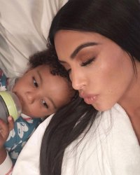 Kim Kardashian Reveals Her Son Saint, 3, Is 'Overprotective' of Her Revealing Outfit Choices: 'Mom! Cover!'