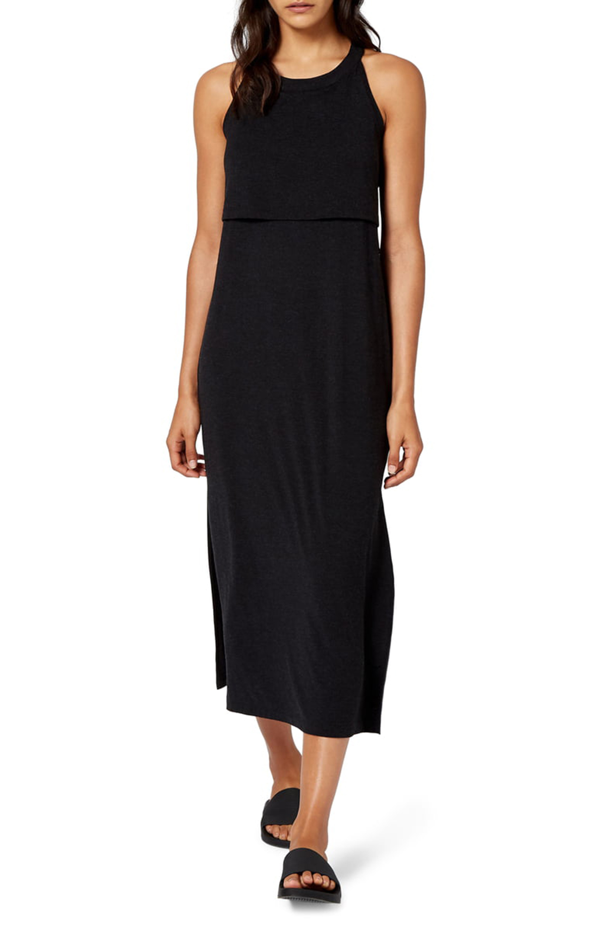 This Black Dress Masters the Art of Comfortable and Chic All at Once