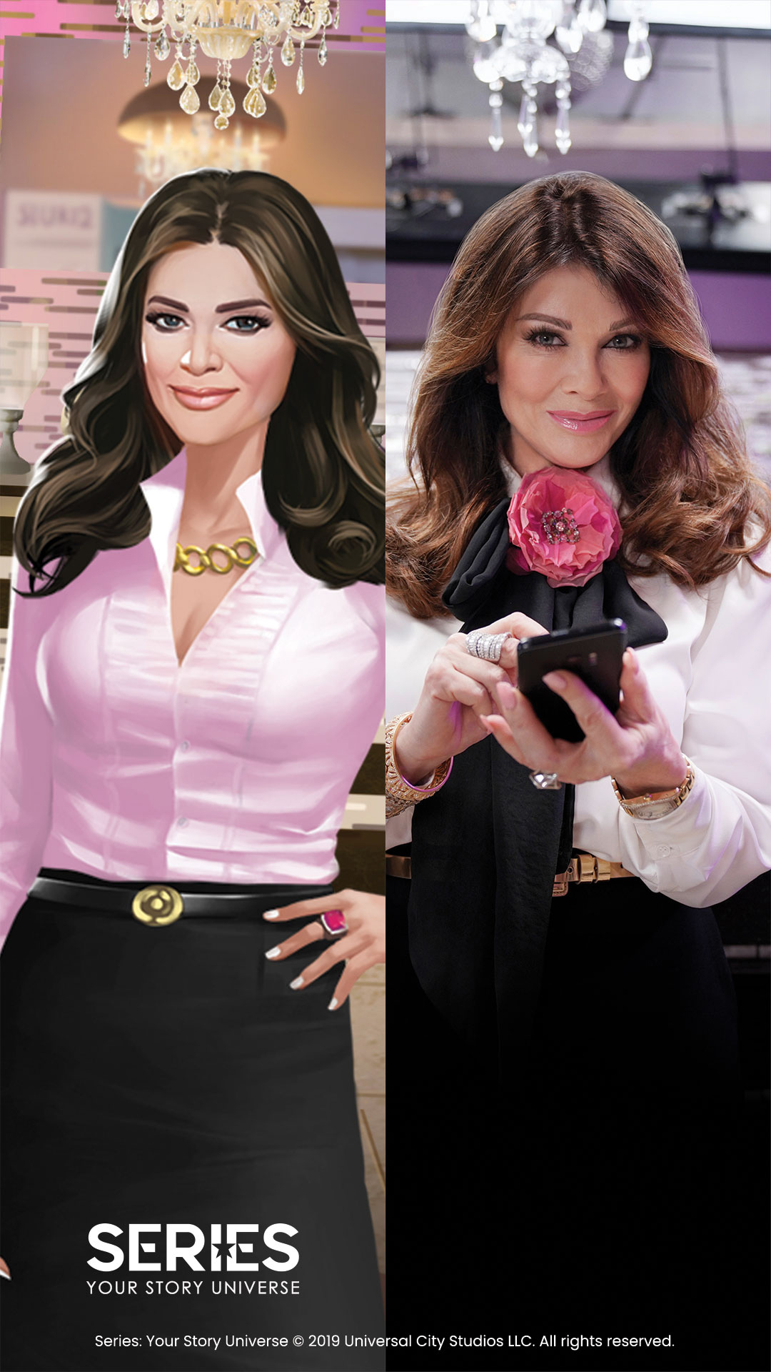 Mario Lopez Bayside High New Mobile Game - Lisa Vanderpump for 'Series: Your Story Universe.