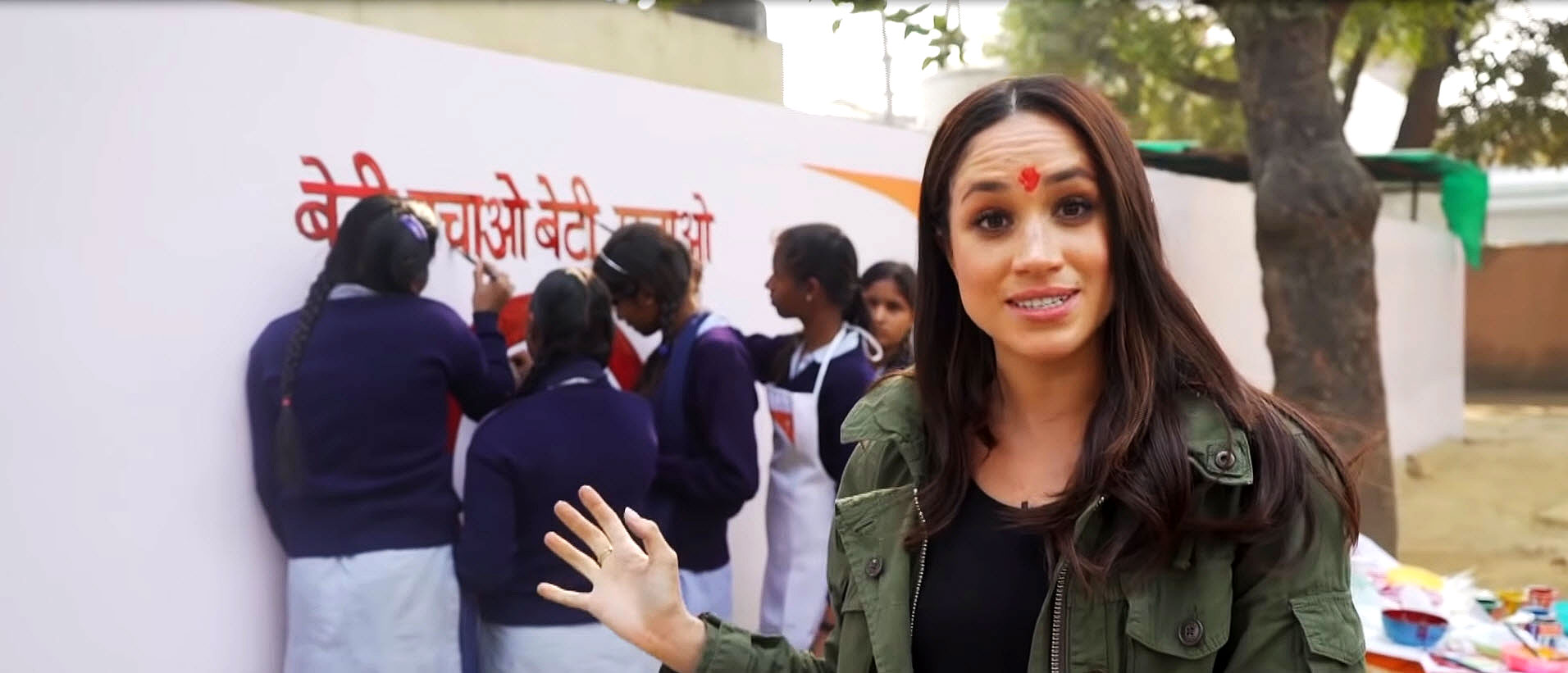 Duchess Meghan Touring in India Before Getting Engaged to Prince Harry - Duchess of Sussex visits India with World Vision.