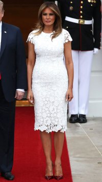 First Lady Melania Trump birthday style