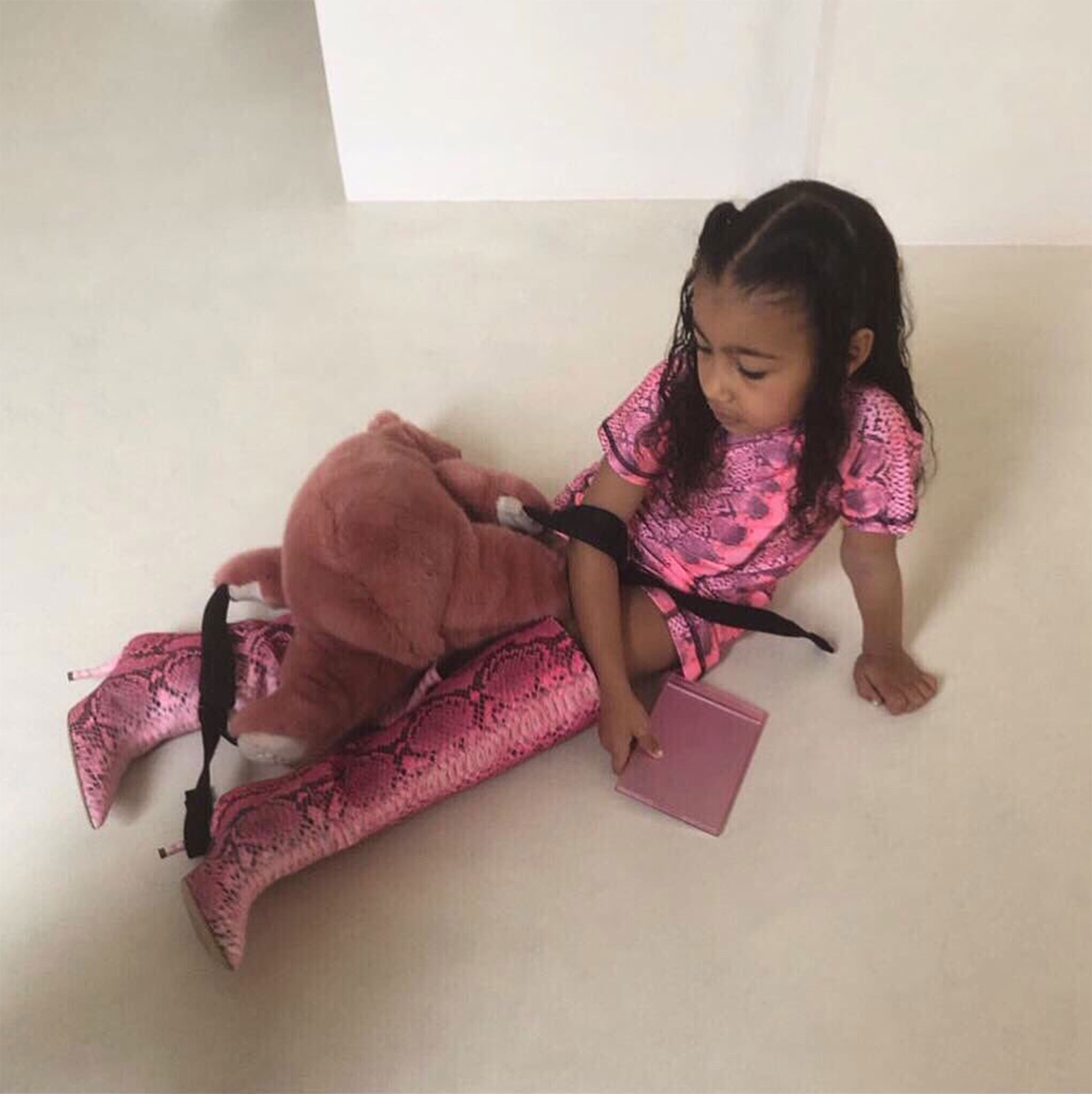 6acb9a5bb Kim Kardashian Tells Daughter North West She Can't Wear Her Heels and the  Response Is Too Funny