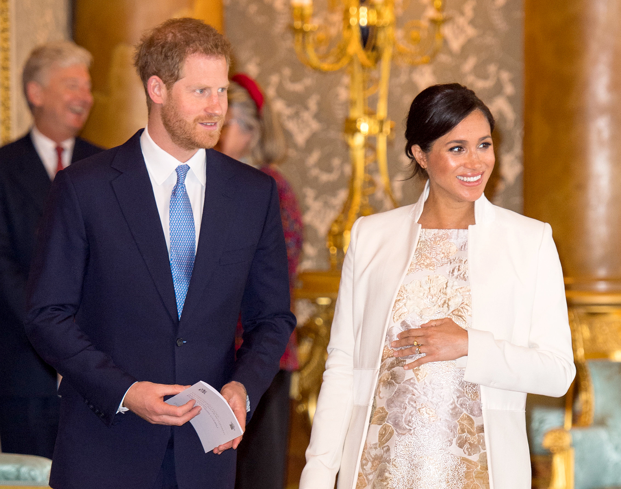 prince-harry-duchess-meghan-Tina--The-Musical-at-Aldwych-Theatre - Before their baby's arrival, the royal couple squeezed in some one-on-one time with a London date night on March 2. The pair watched Tina: The Musical at Aldwych Theatre.