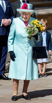Queen Elizabeth II Easter Sunday Celebrated Her 93rd Birthday in a Fun, Colorful Outfit