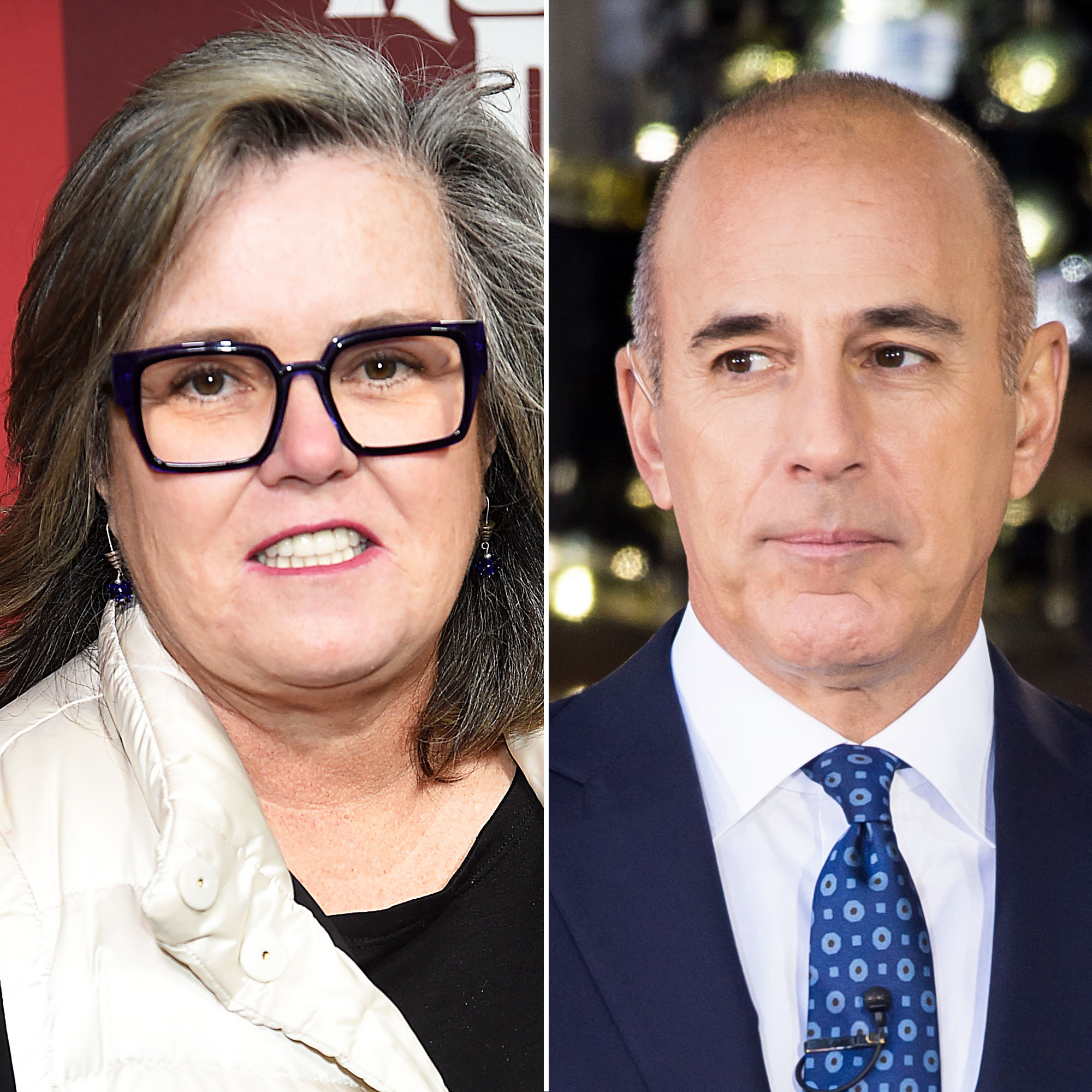 Rosie O'Donnell Matt Lauer She's 'Too Old'! Feuds, Friendships and More Shocking Revelations from 'The View' Tell-All - O'Donnell also commented on Matt Lauer in the book.