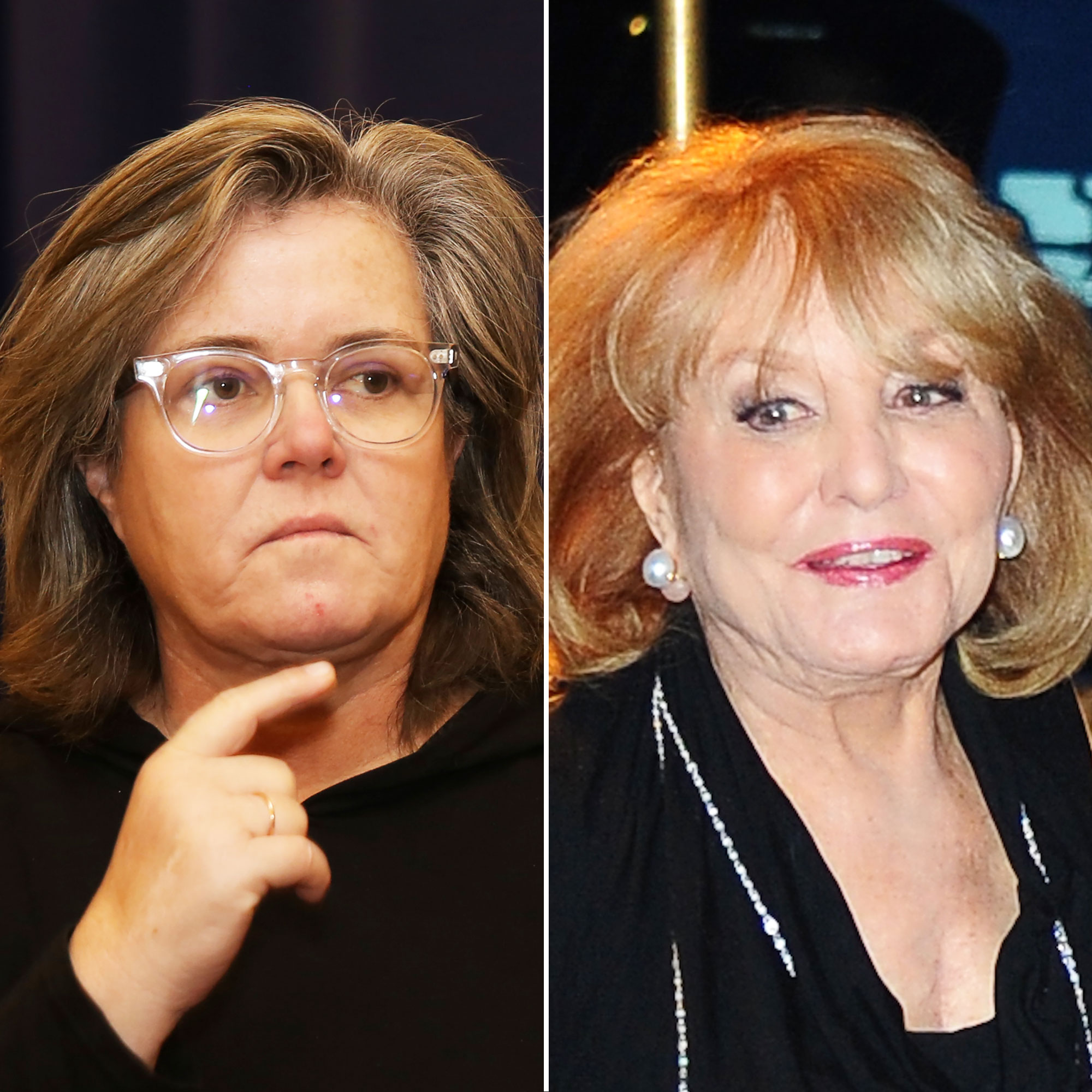 Rosie O'Donnell Barbara Walters She's 'Too Old'! Feuds, Friendships and More Shocking Revelations from 'The View' Tell-All - O'Donnell reportedly butted heads with multiple producers on the show, including Bill Geddie , and director Mark Gentile .