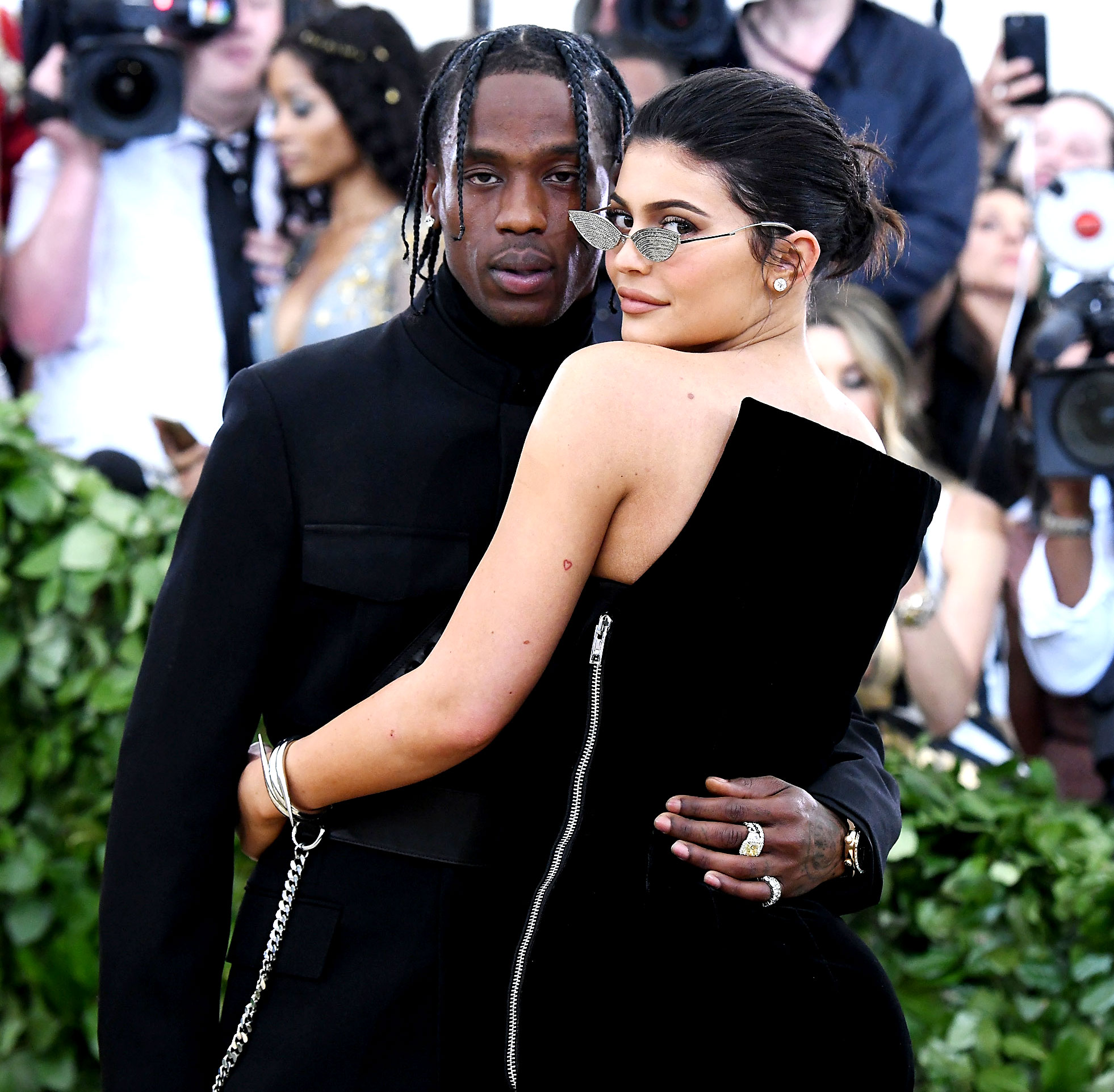 """Kylie Jenner and Travis Scott's Sweetest Quotes About Their Relationship - The Kylie Cosmetics CEO gushed about her rapper beau on his 28th birthday. """"Watching you evolve into the partner, friend, son, and father you are today has been so fulfilling,"""" she captioned an Instagram slideshow in April 2019."""