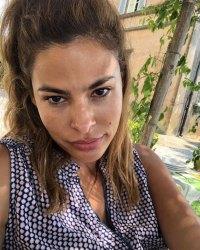 Eva Mendes Shows Off Her Freckles in Rare Selfie