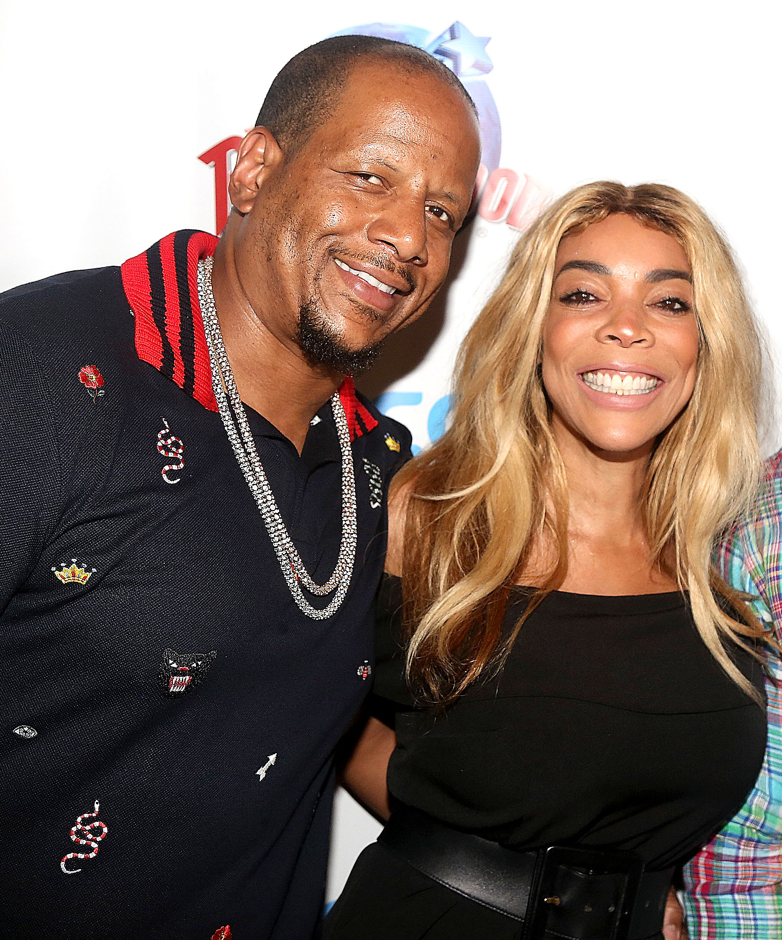 Wendy Williams Healing to Do After Filing for Divorce - Kevin Hunter and Wendy Williams at the celebration for The Hunter Foundation Charity at Planet Hollywood Times Square on July 11, 2017 in New York City.