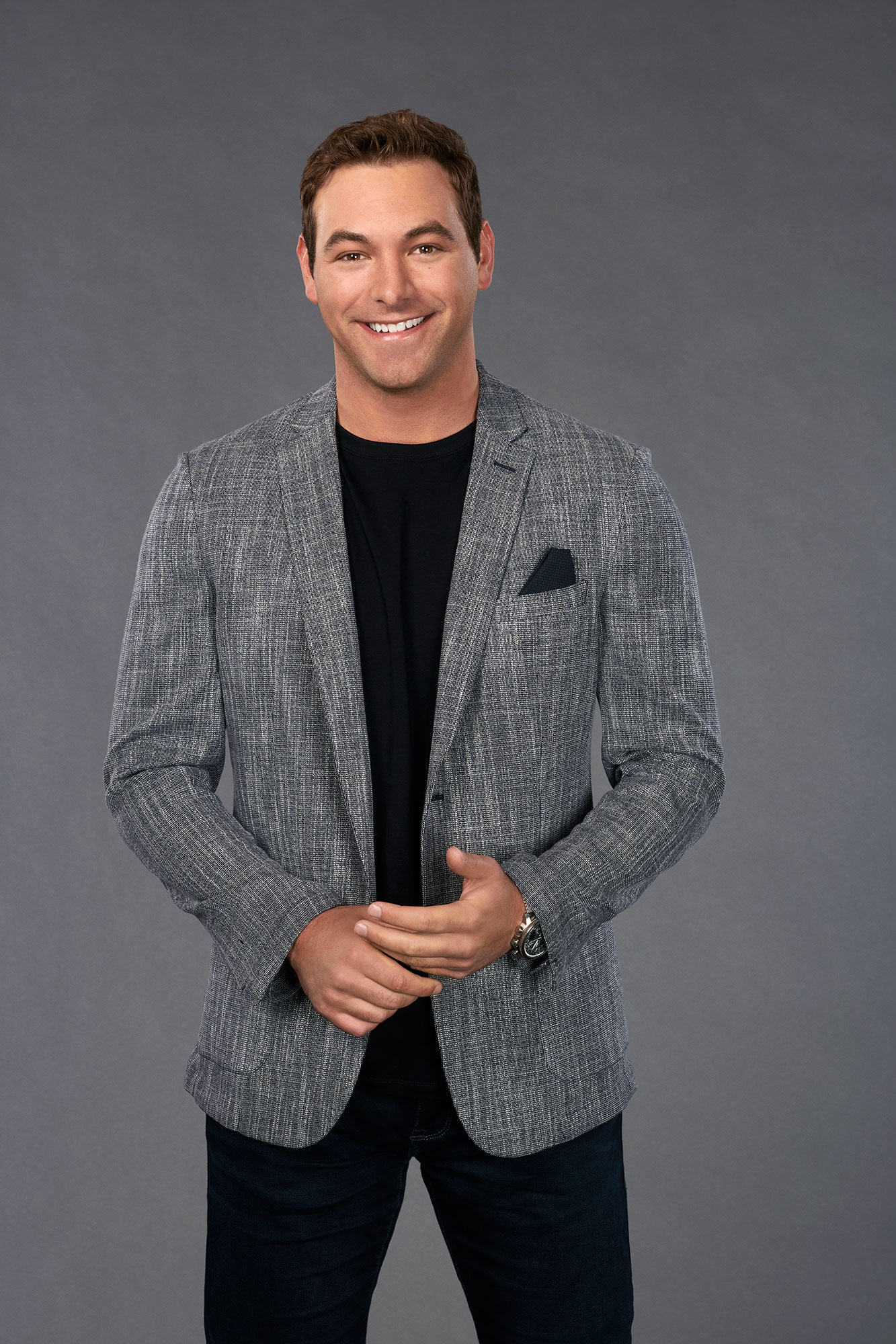 """'The Bachelorette' Season 15: 11 Strangest Revelations From Hannah Brown's Suitors' Bios - The 27-year-old's pilot's """"favorite pastime is watching The Bachelor and drinking cocktails with his mom."""""""