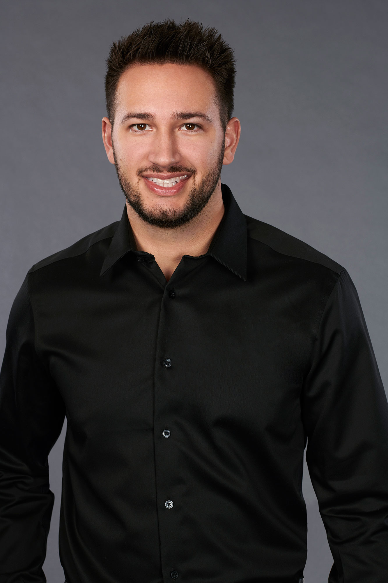 """'The Bachelorette' Season 15: 11 Strangest Revelations From Hannah Brown's Suitors' Bios - The Chicago native, 28, is """"an admirer of Kris Jenner """" and """"once ran in a circle around the mall food court, acting like a flying chicken."""""""
