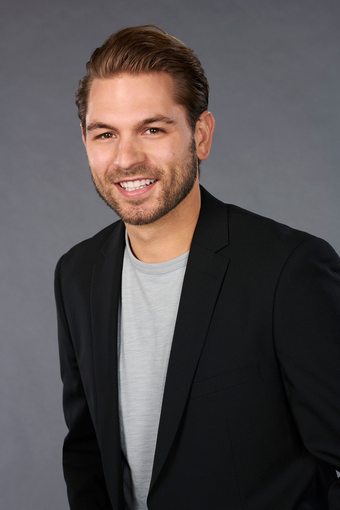 """'The Bachelorette' Season 15: 11 Strangest Revelations From Hannah Brown's Suitors' Bios - The roller boy, 25, is a skilled tightrope walker and loves the outdoors, but """"birds freak him out."""""""