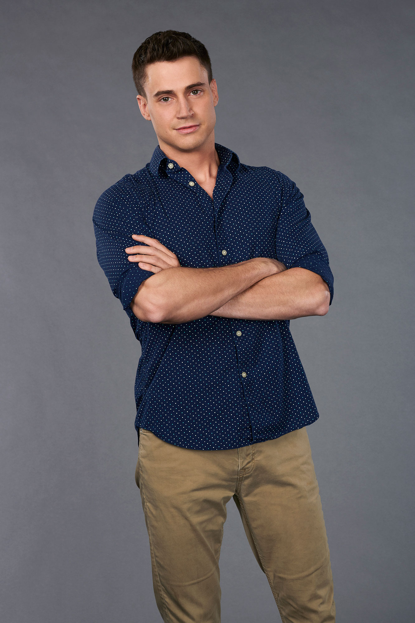 """'The Bachelorette' Season 15: 11 Strangest Revelations From Hannah Brown's Suitors' Bios - The math teacher, 30, """"loves math so much"""" and is a """"pun and sarcasm enthusiast."""""""