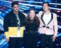 Alejandro Aranda, Madison Vandenburg, and Laine Hardy American Idol Finalists