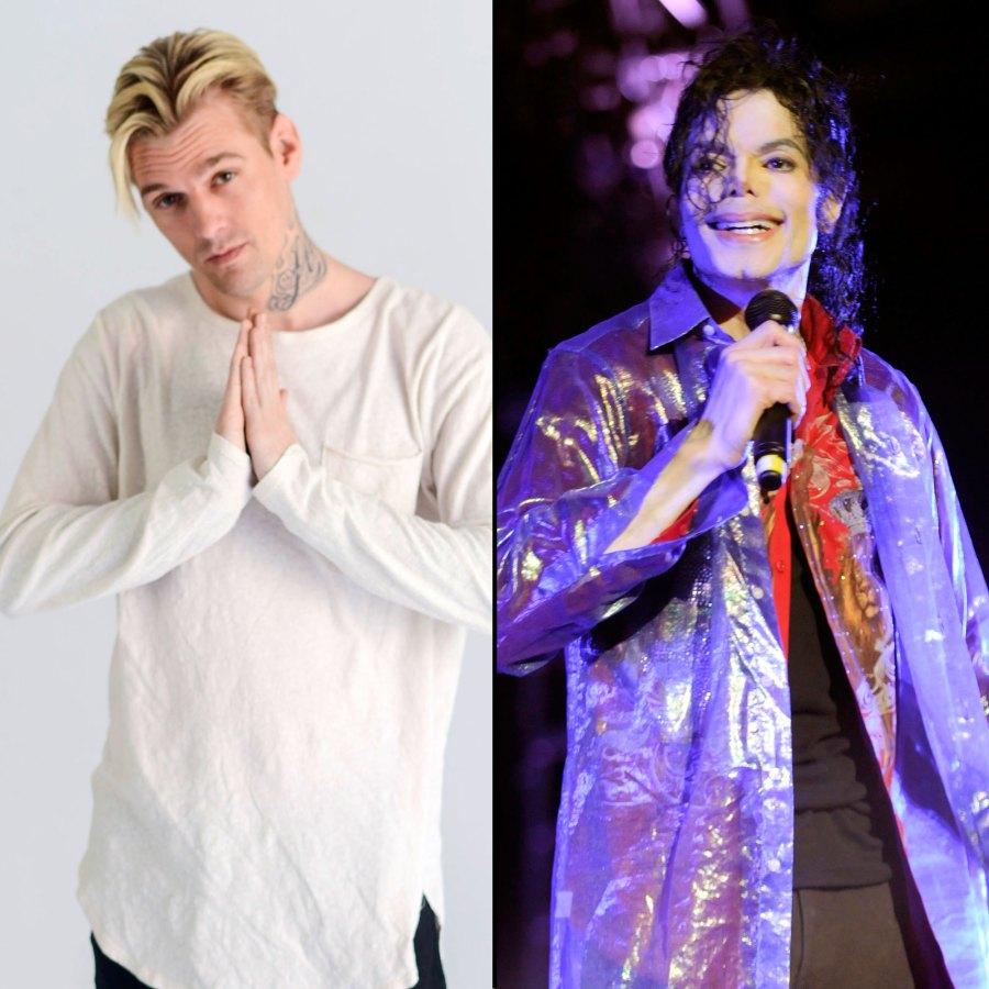 Aaron Carter and Michael Jackson Change Story
