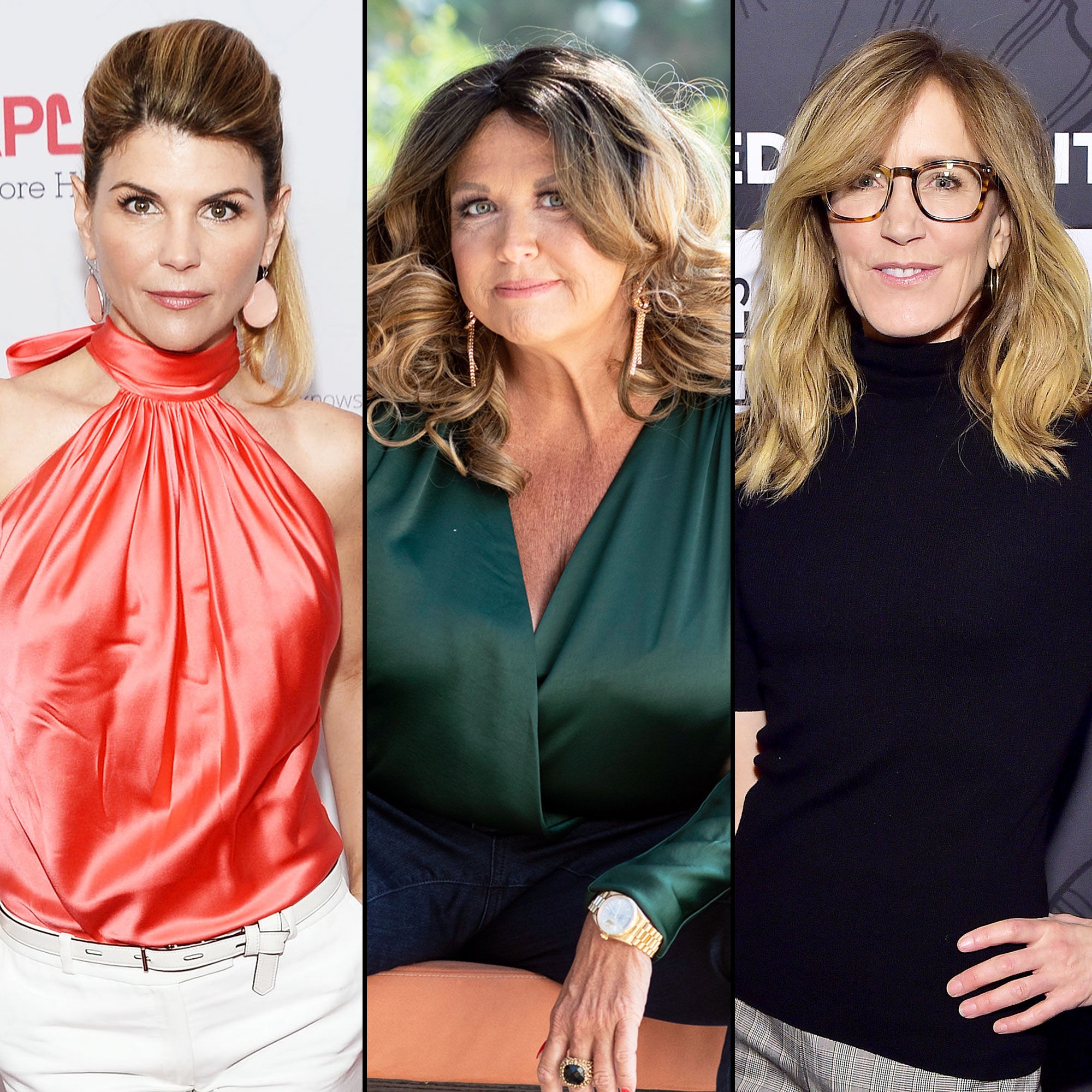 Abby Lee Miller Advice Lori Loughlin Felicity Huffman College Admissions Scandal - Lori Loughlin, Abby Lee Miller and Felicity Huffman.