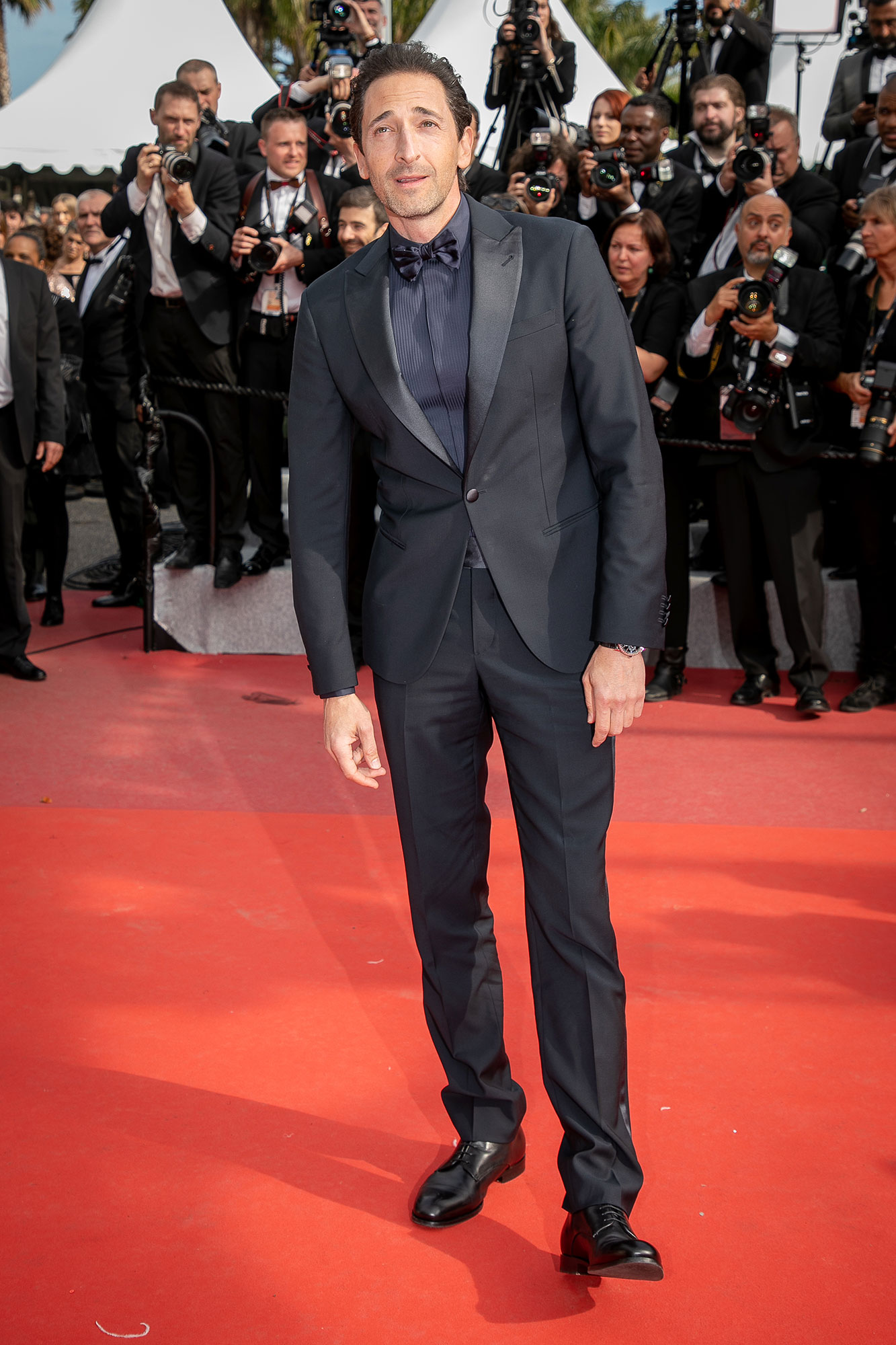 Adrian Brody Cannes Film Festival 2019 Most Stylish Guys Red Carpet - The actor made the case for monochromatic dressing on the Once Upon a Time in Hollywood red carpet on Tuesday, May 21.