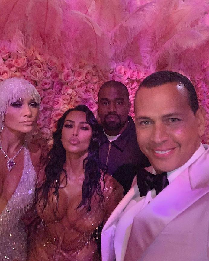 Met Gala 2019 Alex Rodriguez, Jennifer Lopez, Kim Kardashian West and Kayne West
