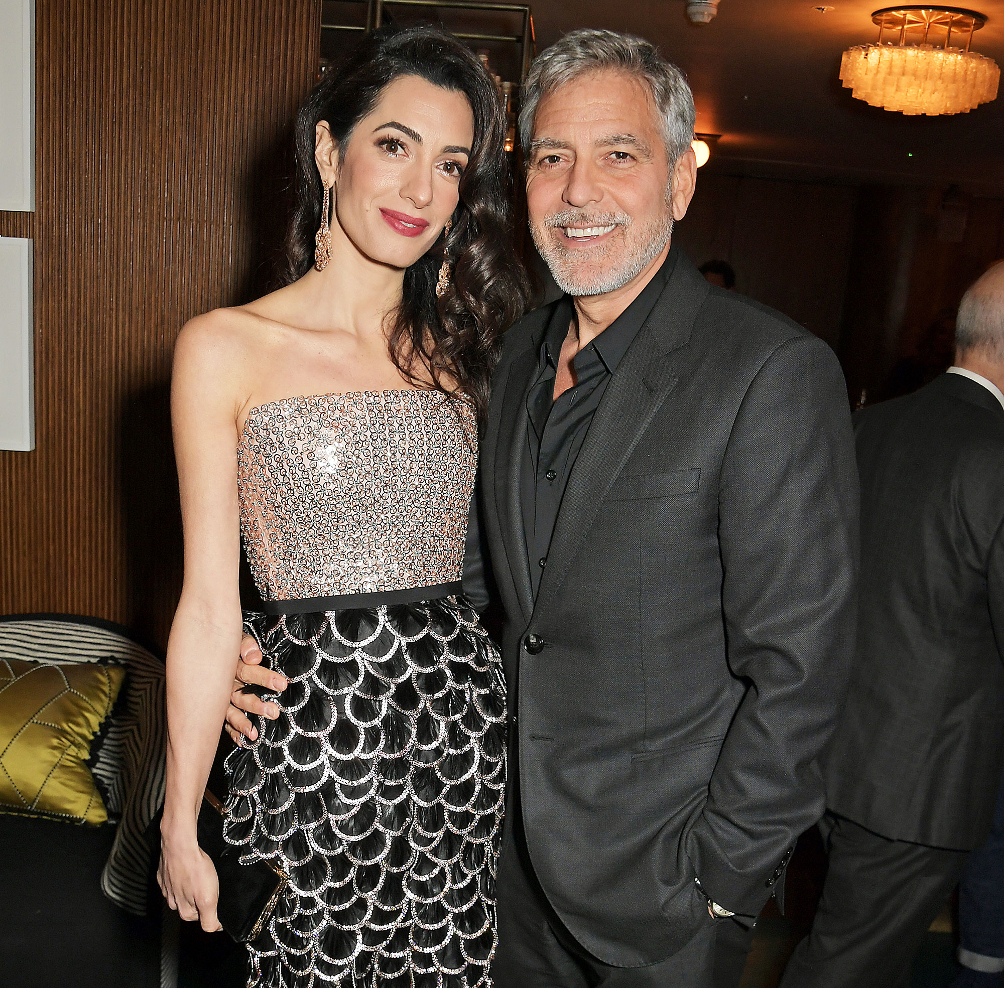Amal Clooney George Clooney Motorcycle Crash Die - Amal Clooney and George Clooney attend the London Premiere after party for new Channel 4 show 'Catch-22' at White City House on May 15, 2019.