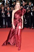 Stepping Out in Cannes Amber Heard