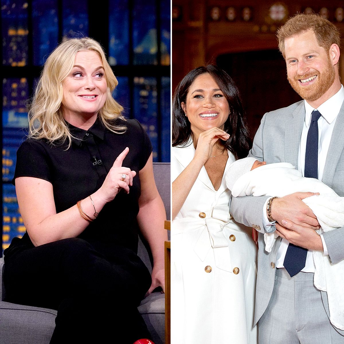 Amy Poehler Jokes Prince Harry, Meghan Copied Her Baby Name