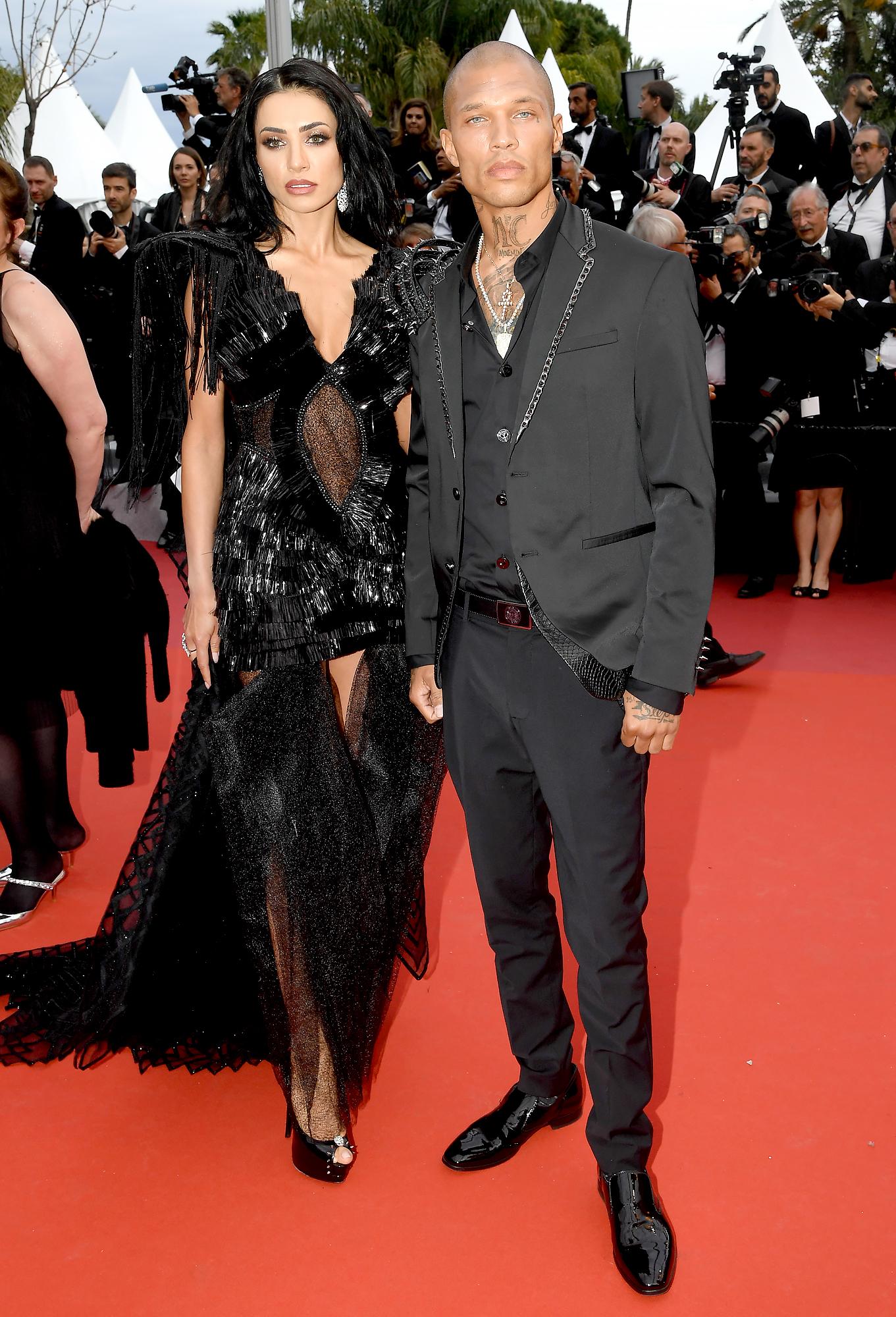 Andreea-Sasu-and-Jeremy-Meeks-Cannes