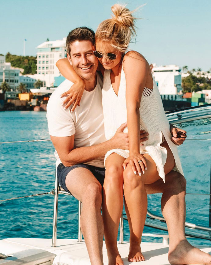 Arie Luyendyk Jr. and Lauren Burnham Birth Announcement