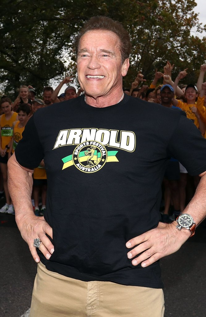Arnold Schwarzenegger Acts Like Real-Life Terminator, Barely Flinches During Surprise Attack