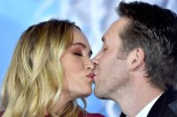 Ashlan Gorse and Philippe Cousteau Welcome First Child Gallery
