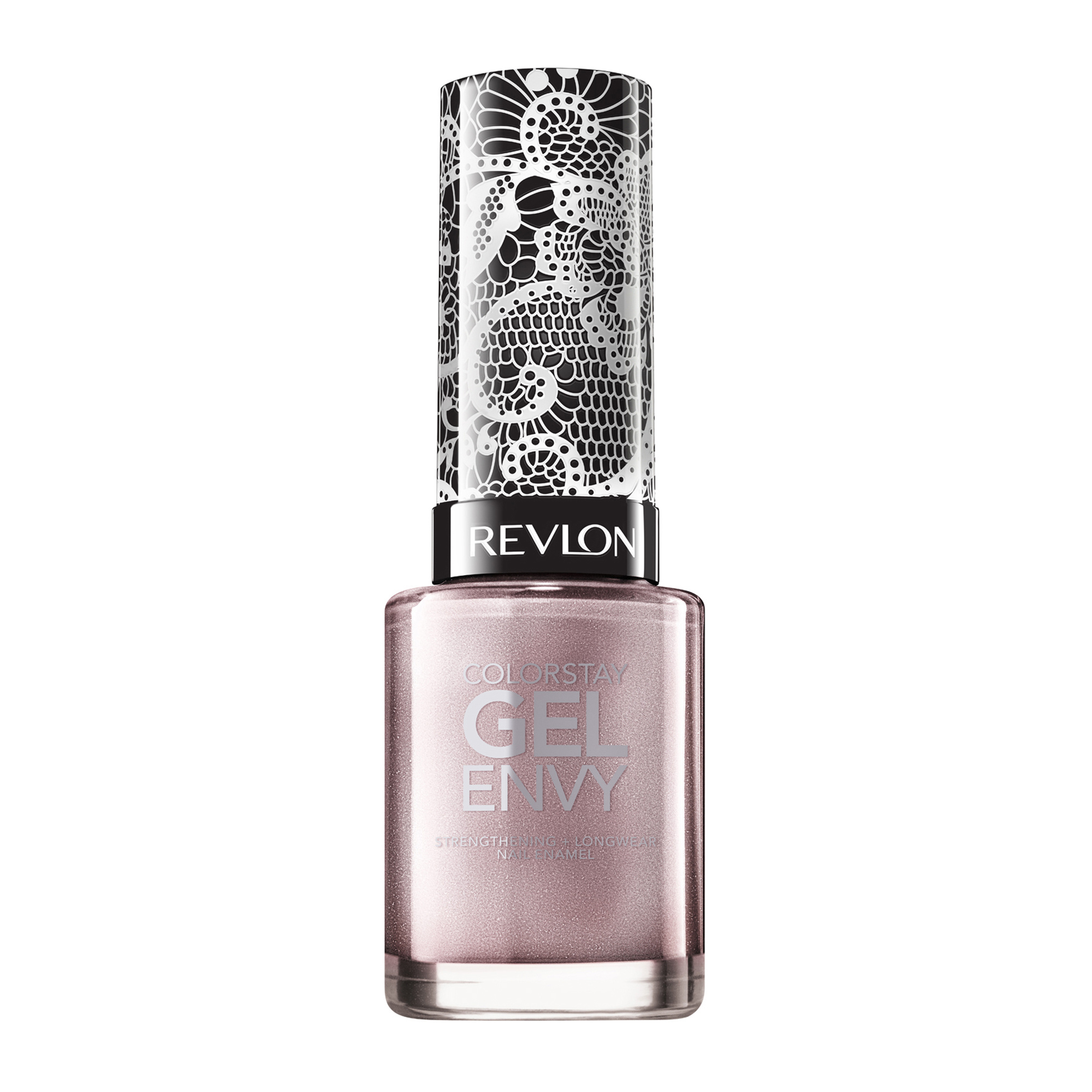 Ashley Graham Revlon Nail Polish - There is a pastel quality to this metallic lilac pink.