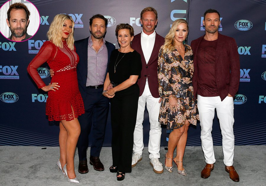 BH90210 Cast and Luke Perry