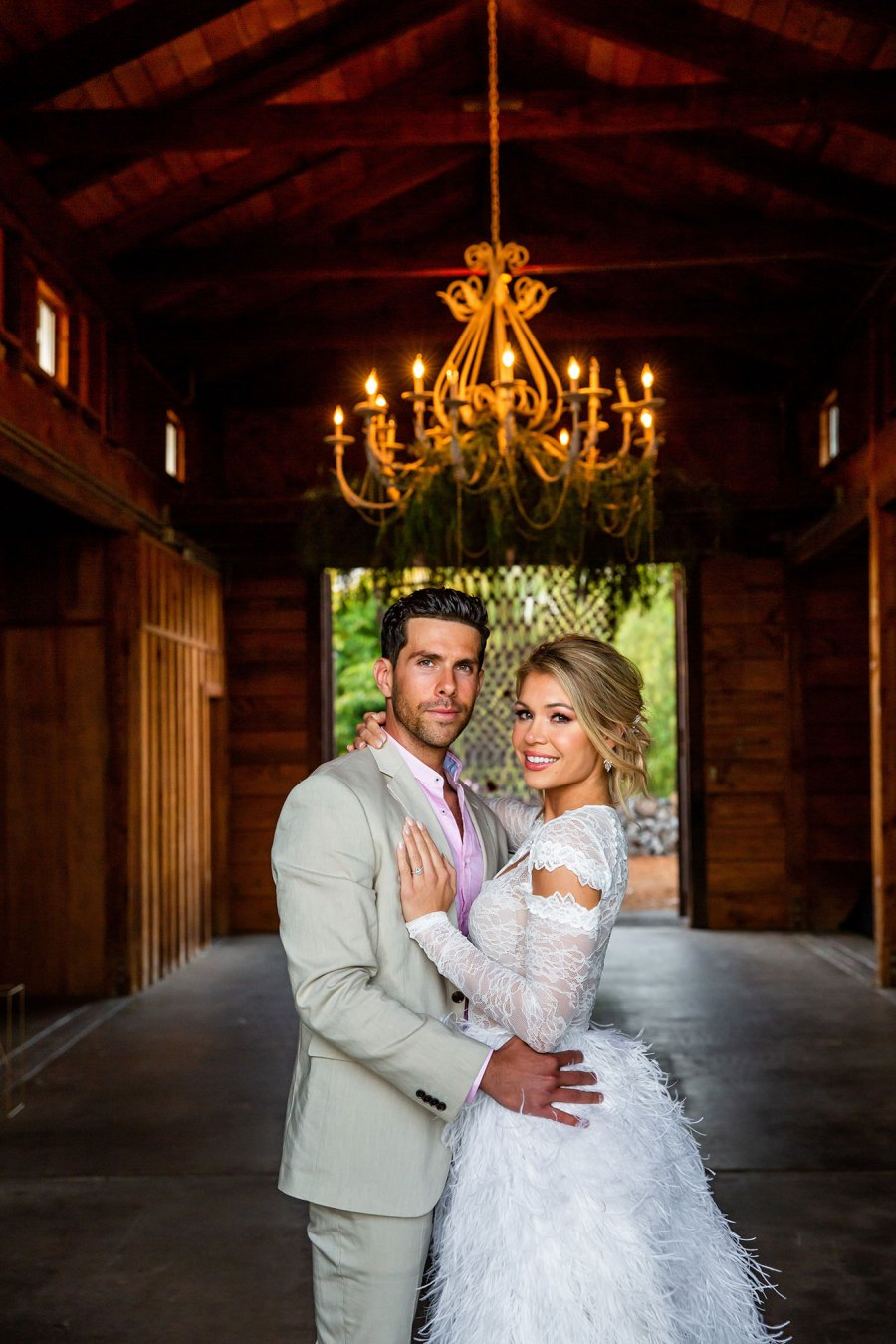 'Bachelor in Paradise' Alums Krystal Nielson and Chris Randone Look More in Love Than Ever at Lavish Engagement Party
