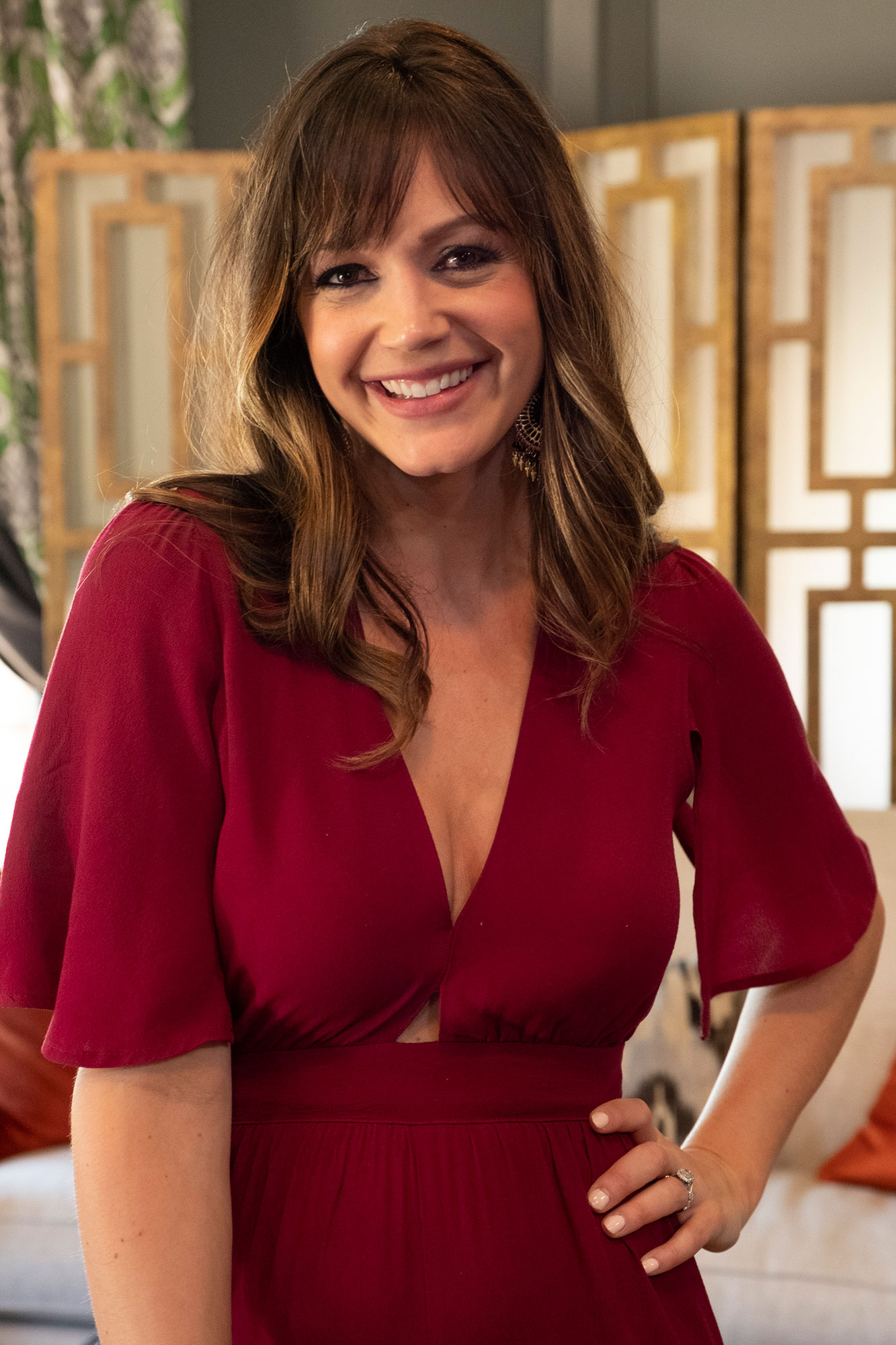 """Desiree Hartsock """"Bachelorette Reunion: The Biggest Bachelorette Reunion in Bachelor History Ever!"""" - Hartsock, 33, married her final pick, Chris Siegfried , in January 2015. The couple are parents of sons Asher, 2, and Zander, 3 months."""