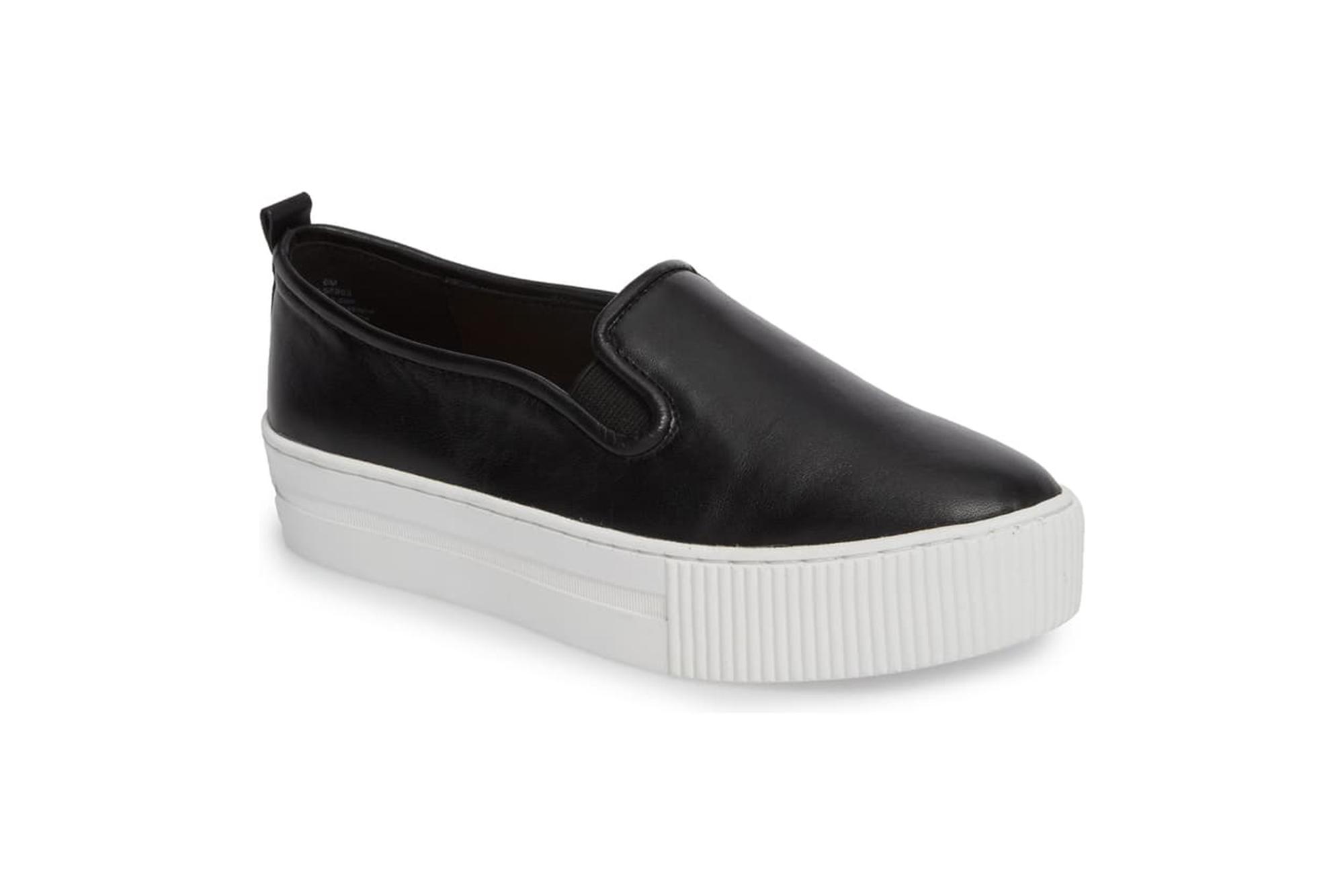 nordstrom white platform sneakers