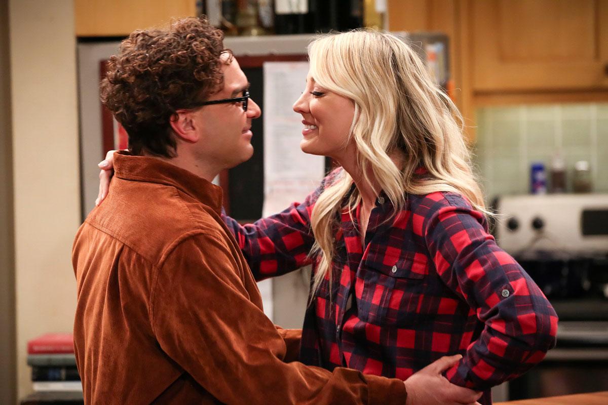 Big Bang Theory Recap Johnny Galecki Kaley Cuoco - Johnny Galecki as Leonard Hofstadter and Kaley Cuoco as Penny appear in the series finale of 'The Big Bang Theory.