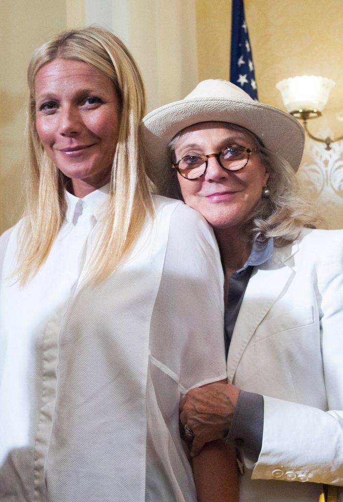 Blythe Danner Calls Gwyneth Paltrow a 'Brilliant' Parent