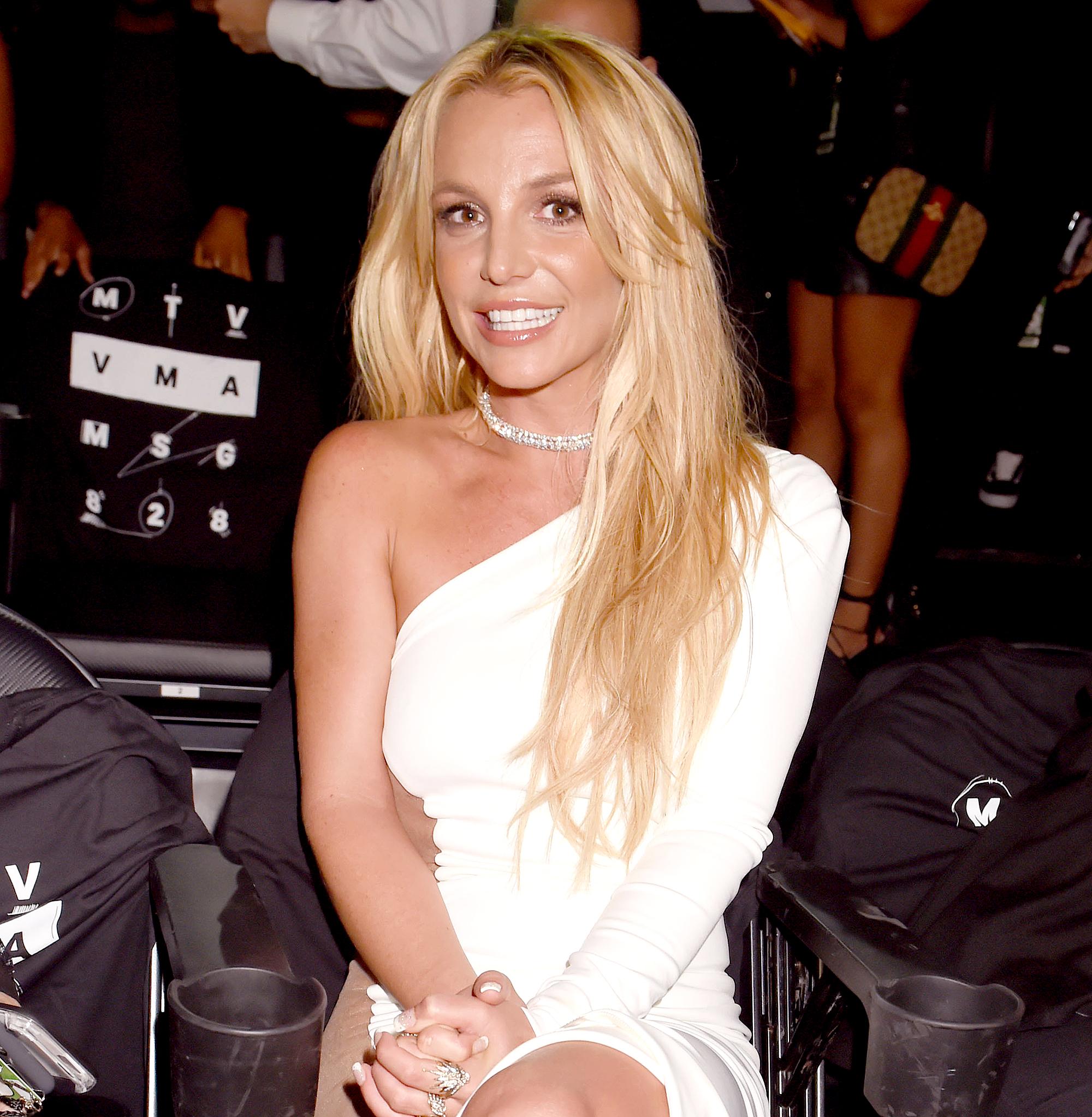 Britney Spears Attends Son Preston's 8th Grade Graduation