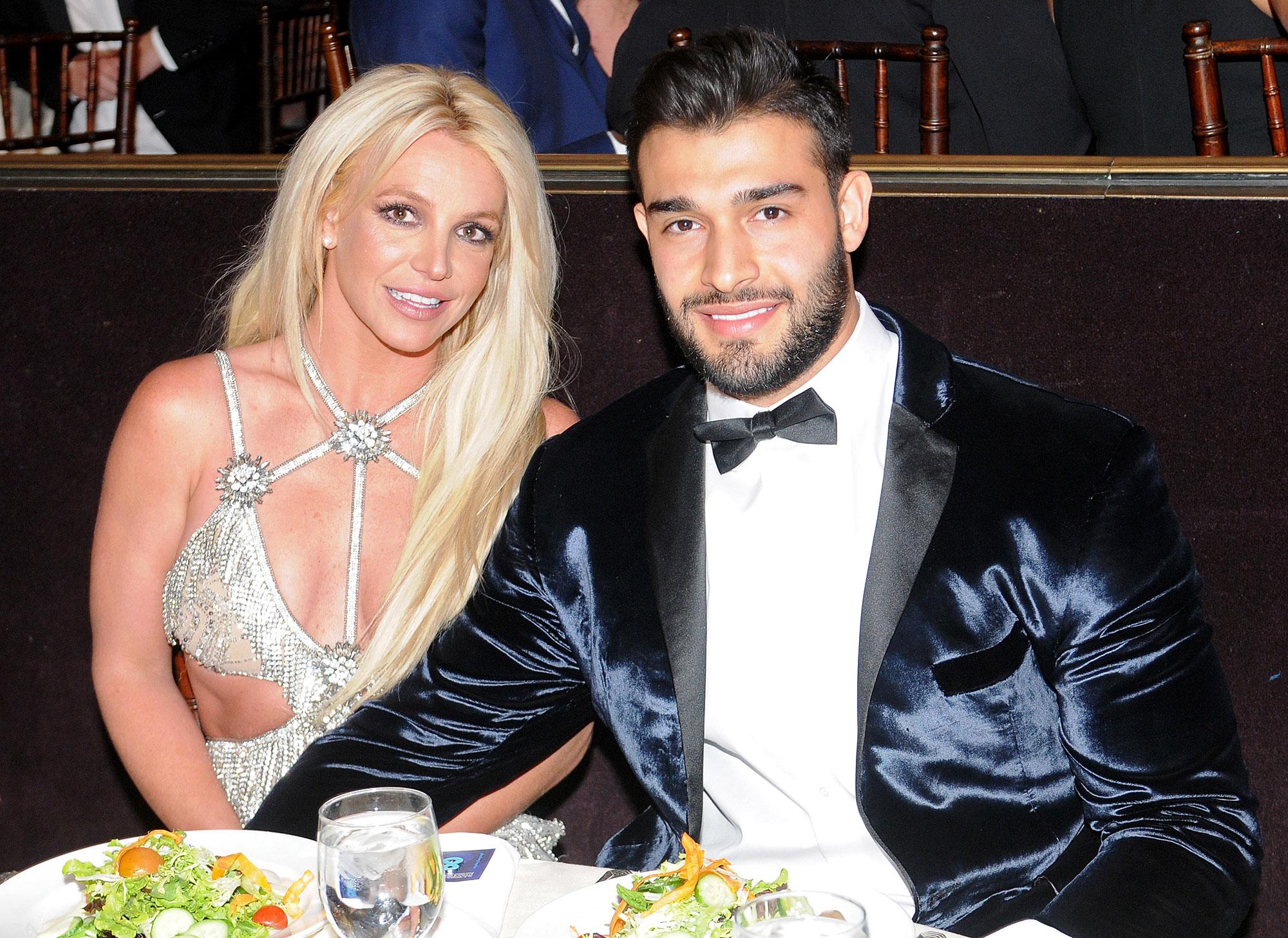 Britney Spears Sam Asghari Positive Light