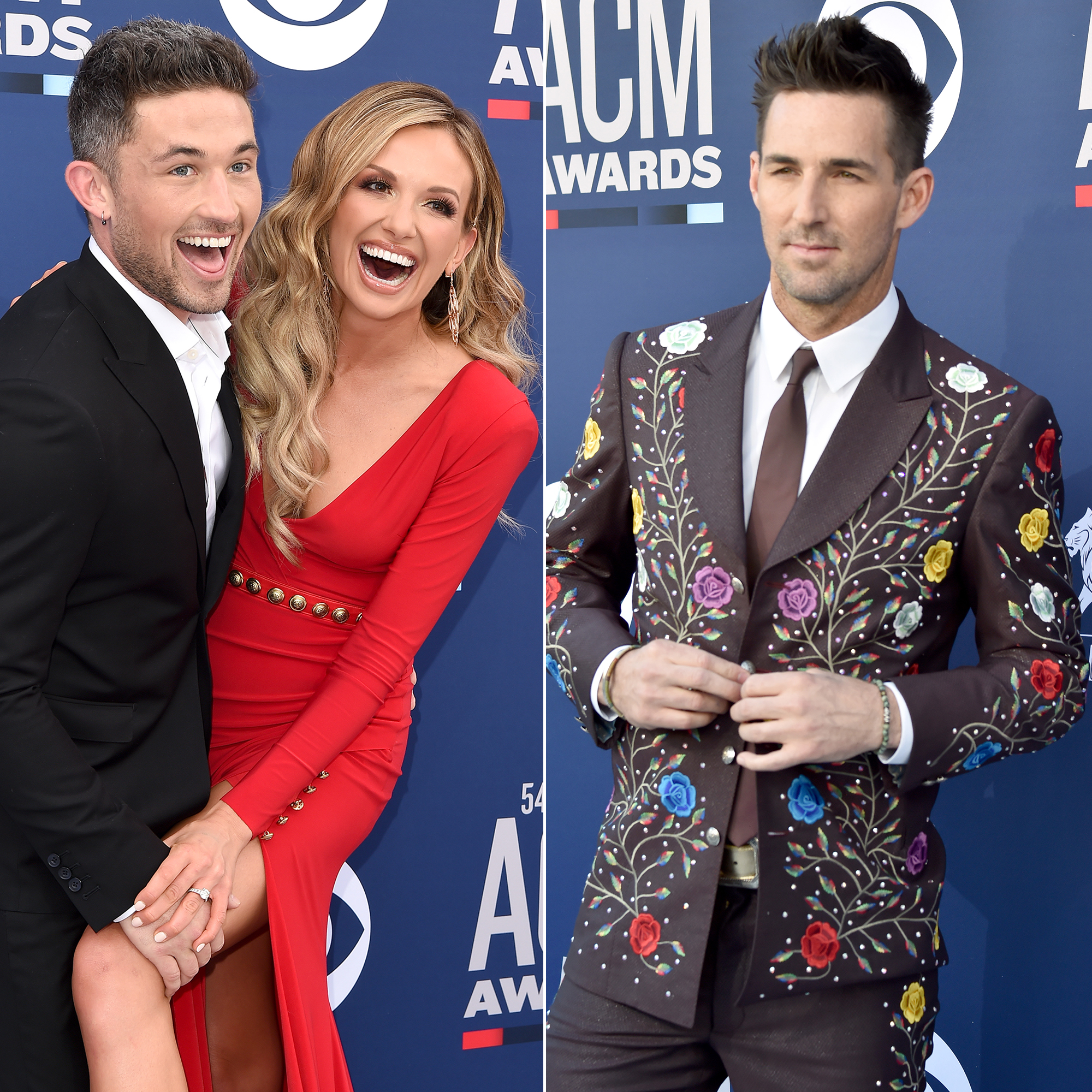 Carly Pearce Says Jake Owen to Sing First Dance at Her Wedding - Michael Ray, Carly Pearce and Jake Owen.