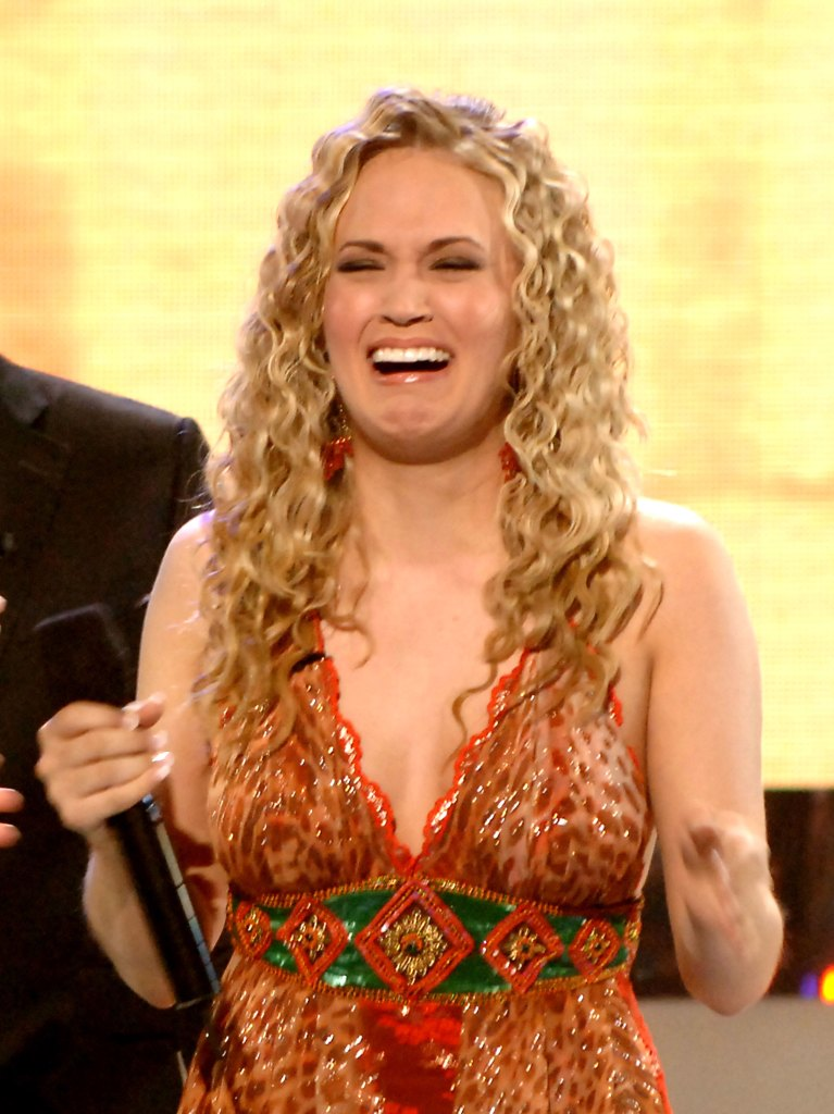 Carrie Underwood Posts Hilarious Throwback Photo on 14th Anniversary of 'American Idol' Win I Really 'Can't Cry Pretty' American Idol